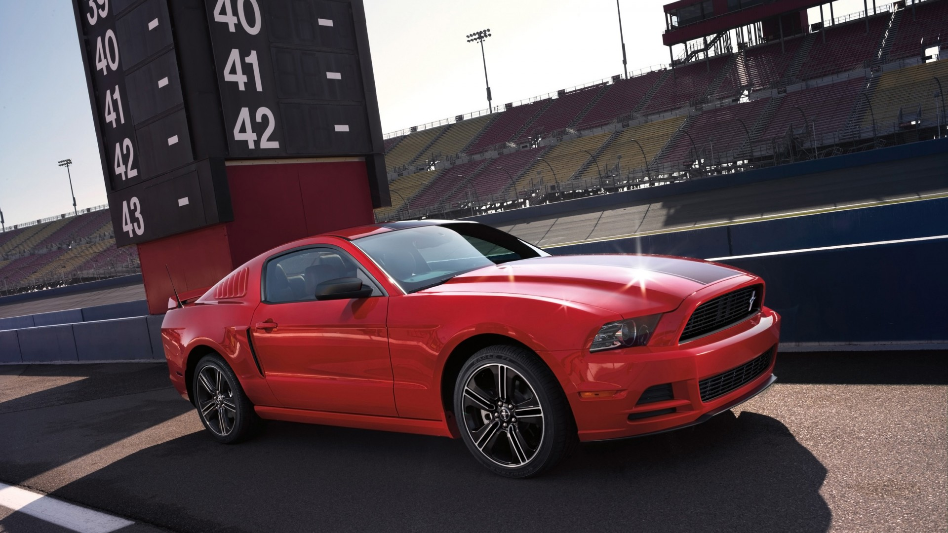 White Mercedes Benz >> 2014 Ford Mustang GT Wallpaper | HD Car Wallpapers | ID #3913
