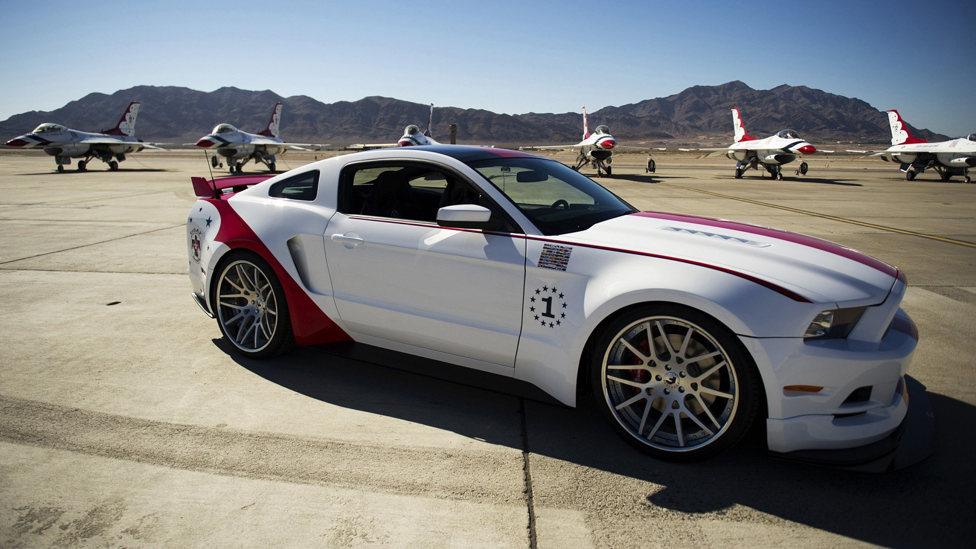 2014 Ford Mustang Gt Us Air Force Thunderbirds Edition 2