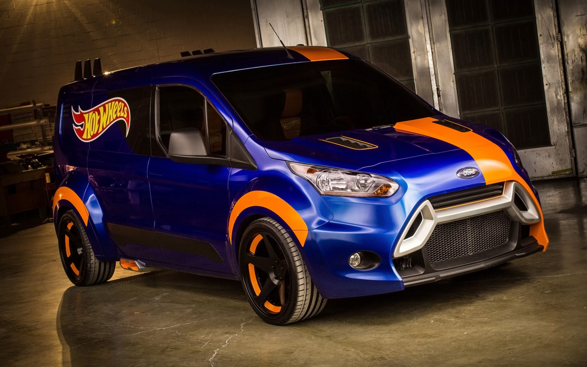 2014 Ford Transit Connect Hot Wheels Wallpaper Hd Car