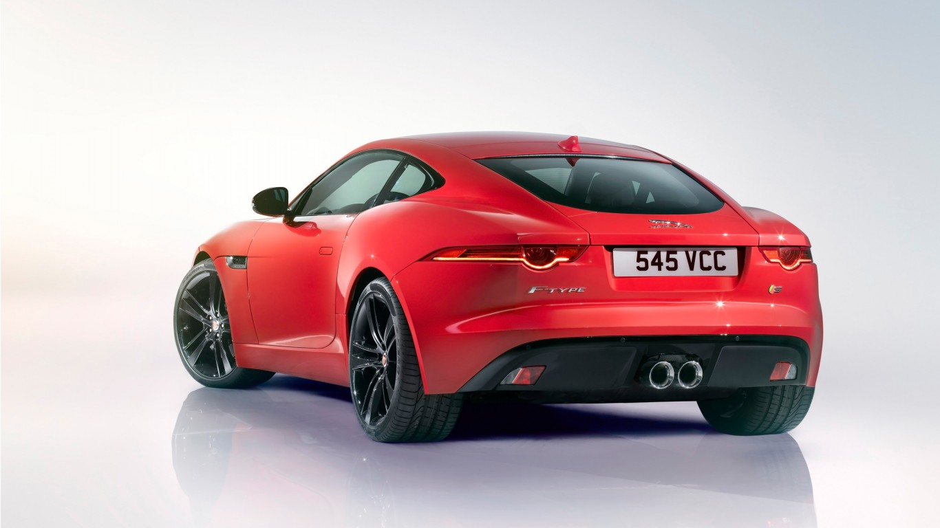 2014 jaguar f type r coupe 4 wallpaper hd car wallpapers id 3978. Black Bedroom Furniture Sets. Home Design Ideas