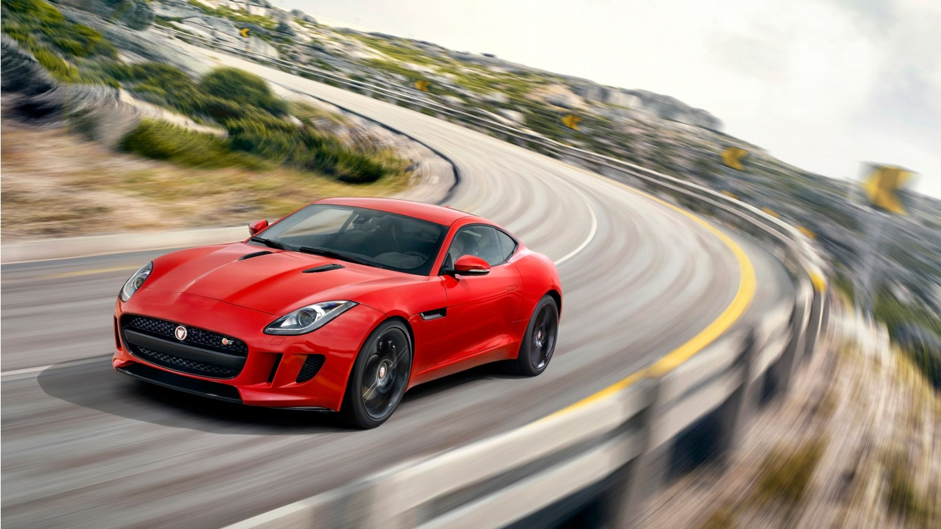 Jaguar f type coupe wallpaper - photo#15