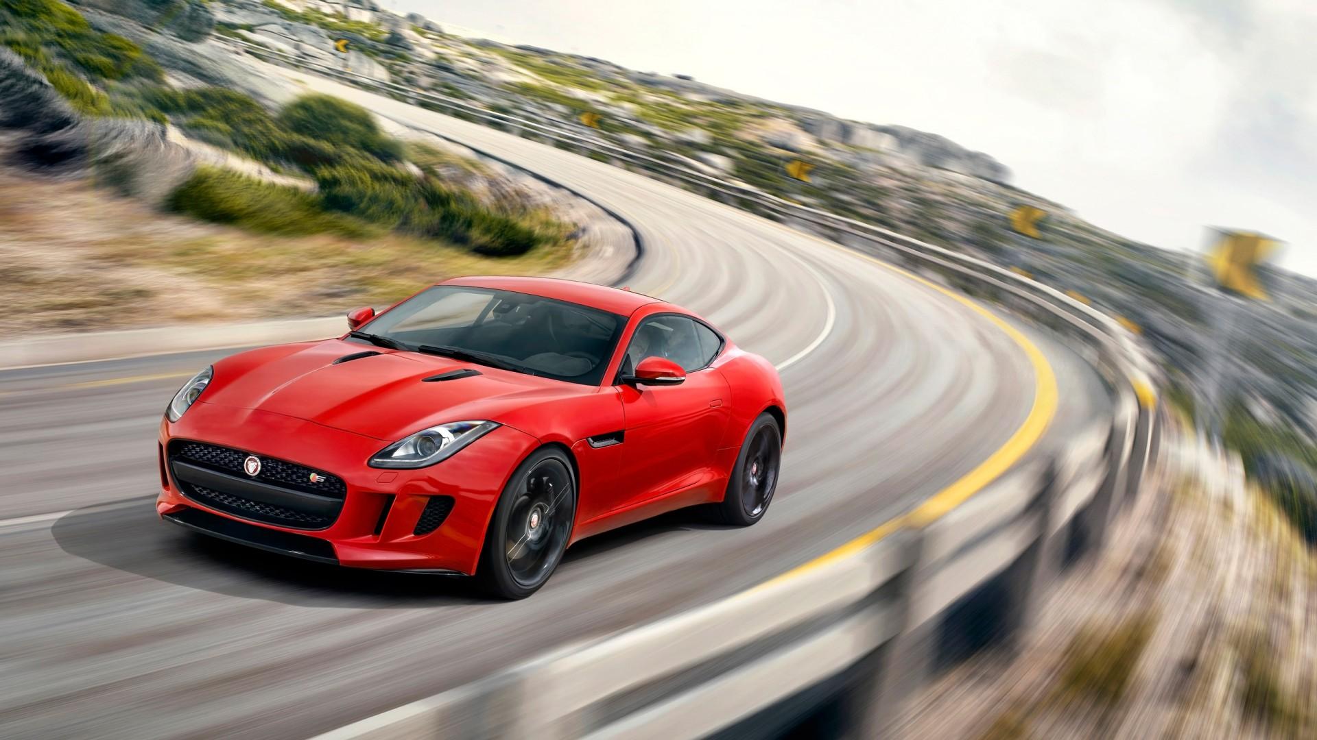Jaguar F Type Coupe >> 2014 Jaguar F Type R Coupe Salsa Red Wallpaper | HD Car ...