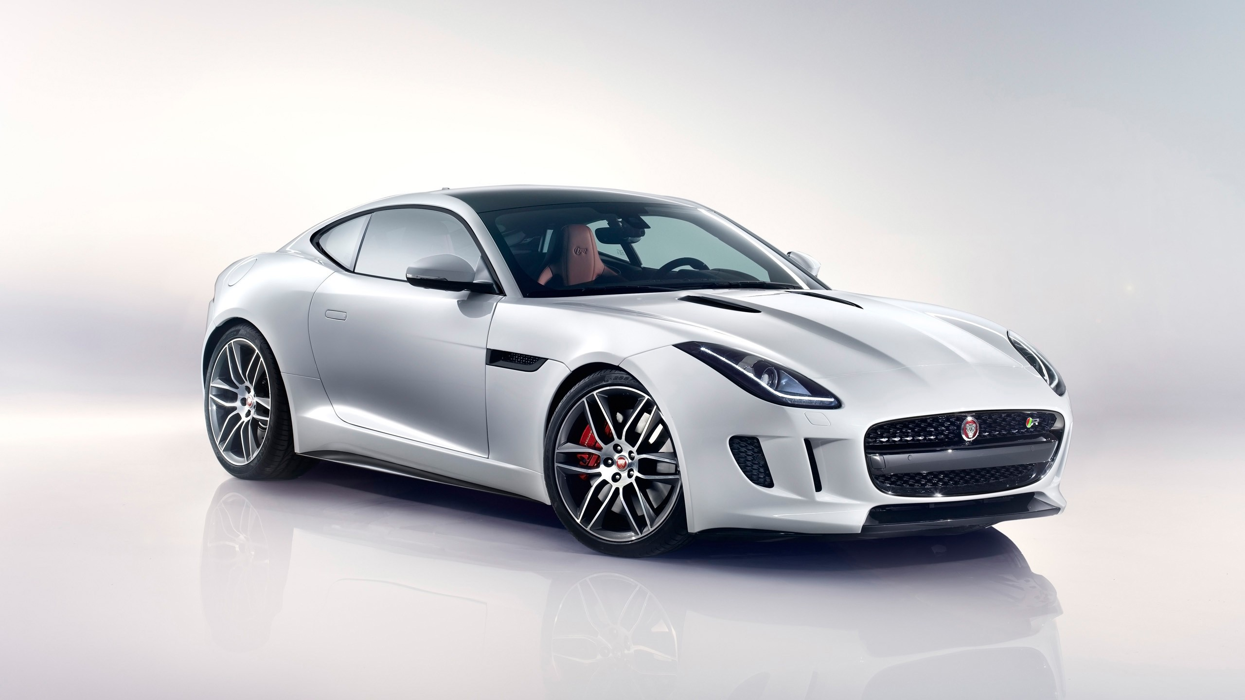 F Type Coupe >> 2014 Jaguar F Type R Coupe White Wallpaper | HD Car Wallpapers | ID #4227