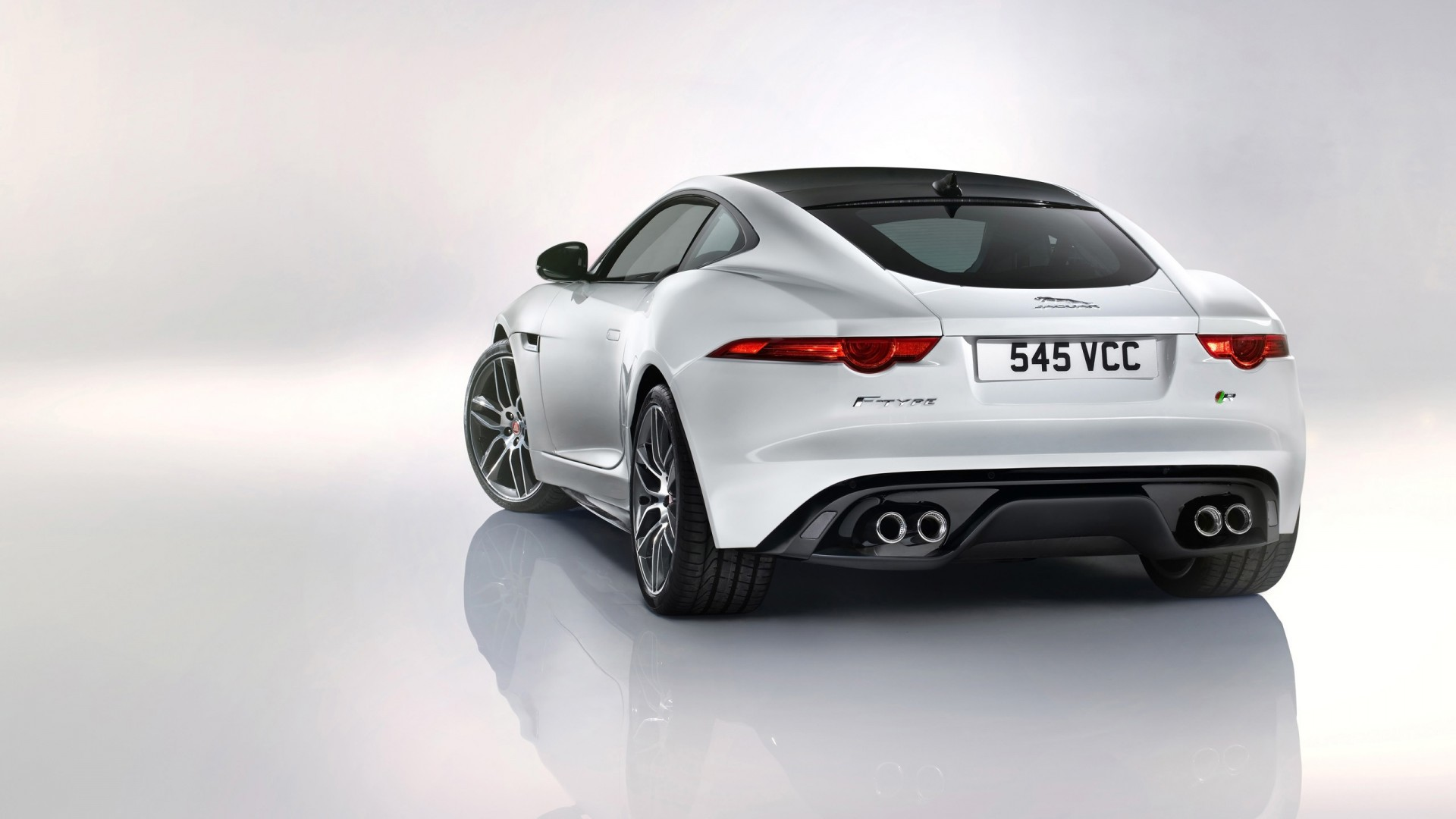 2014 jaguar f type r coupe white 2 wallpaper hd car wallpapers