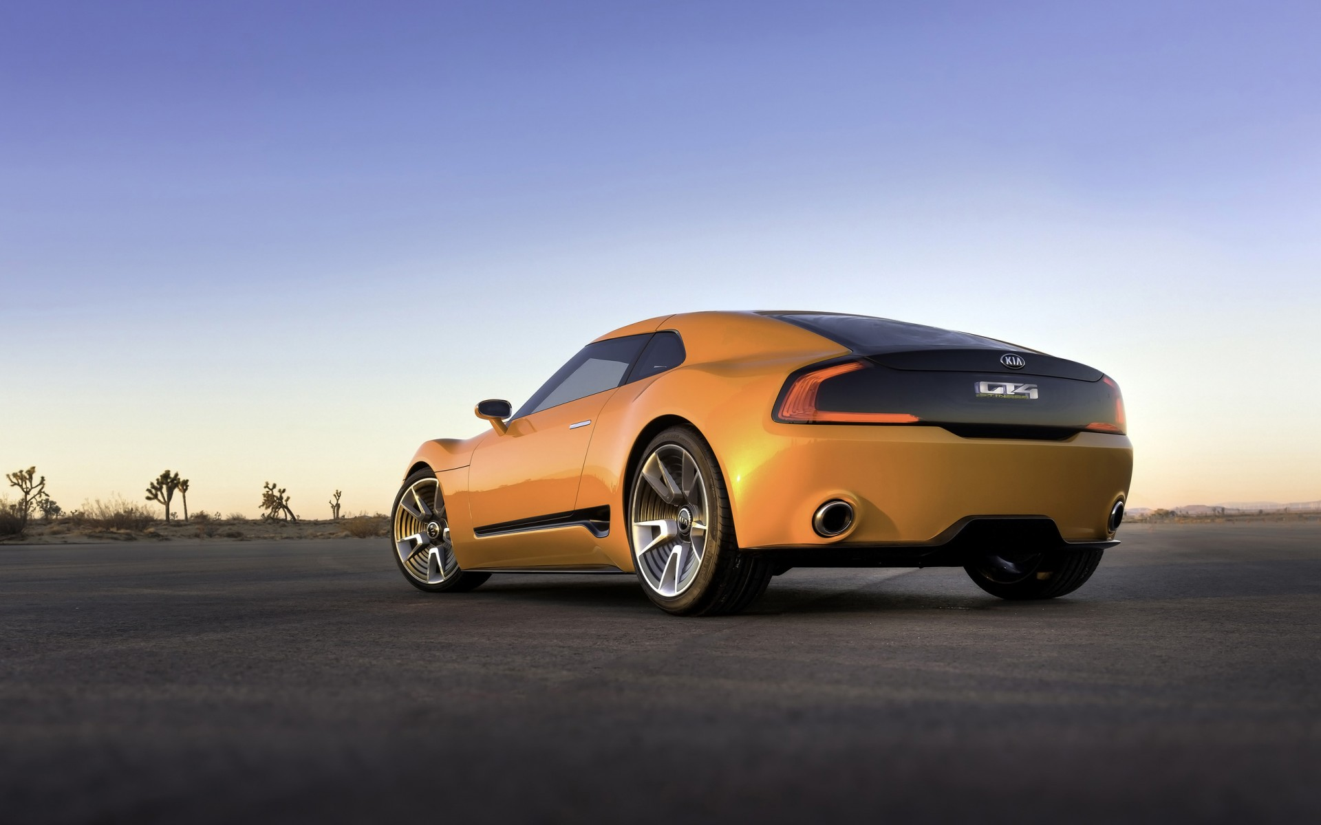 2014 Kia Gt4 Stinger Concept 2 Wallpaper Hd Car