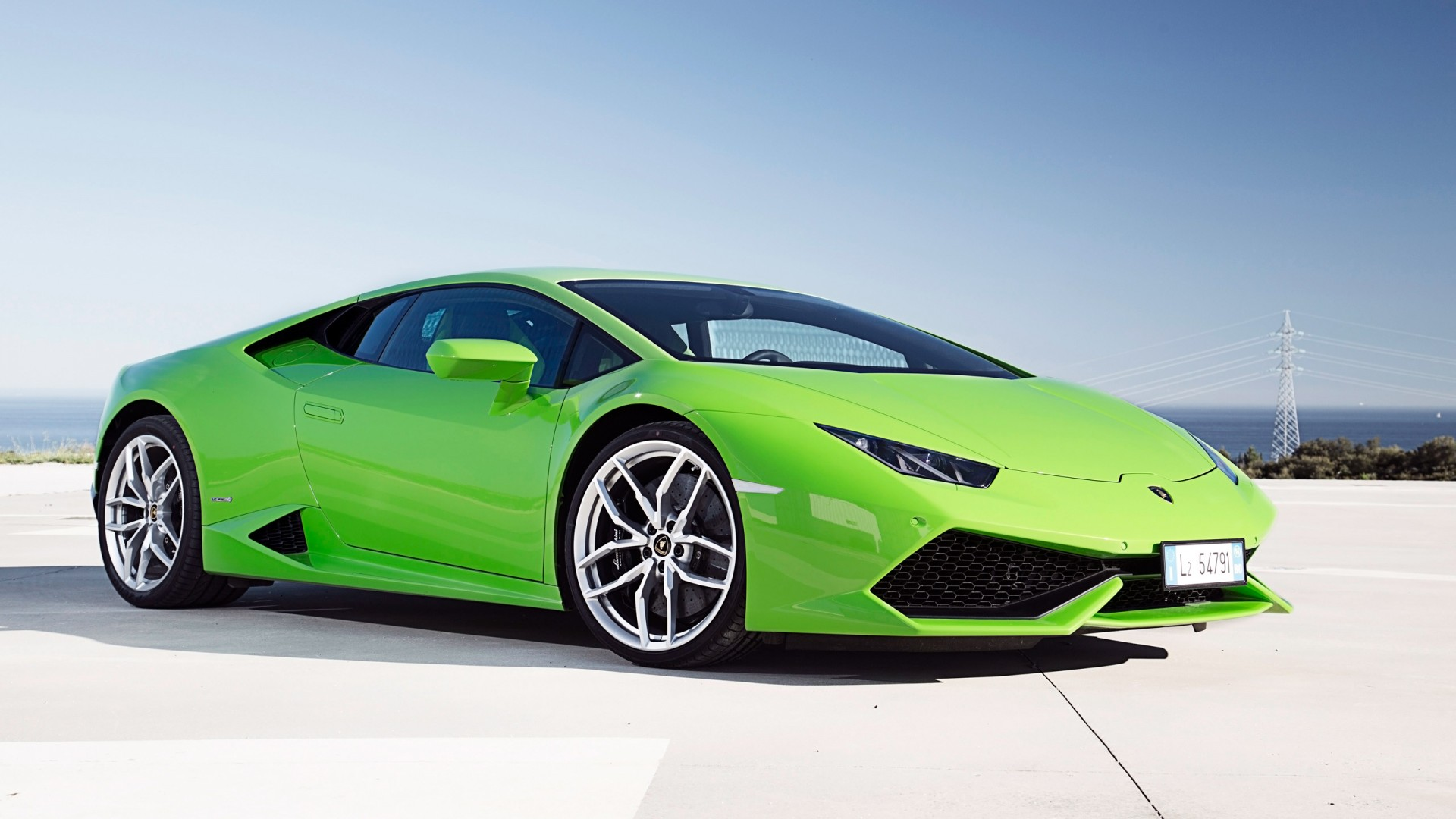 2014 Lamborghini Huracan LP610 4 Green Wallpaper | HD Car ...