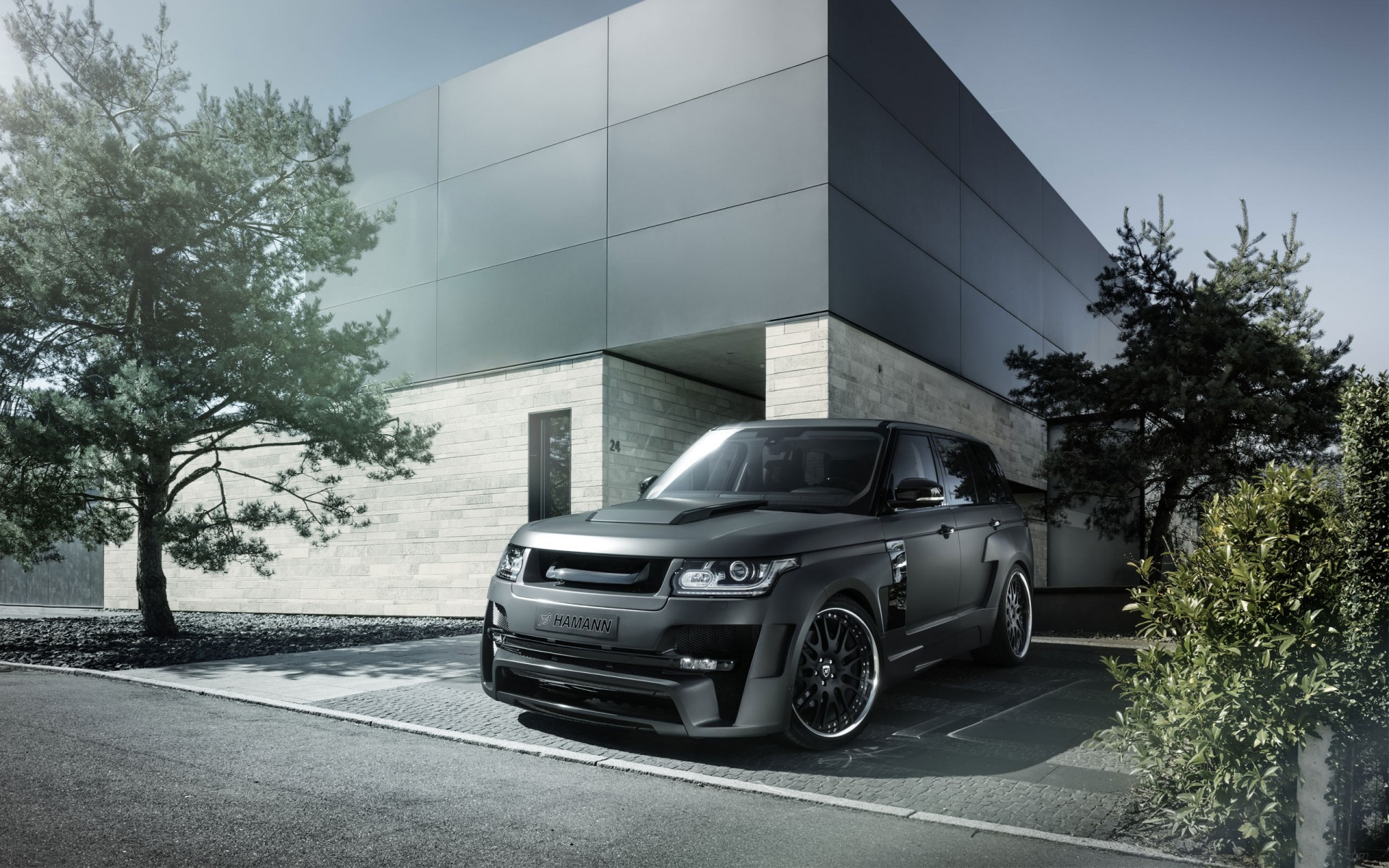 2014 land rover range rover mystere by hamann wallpaper