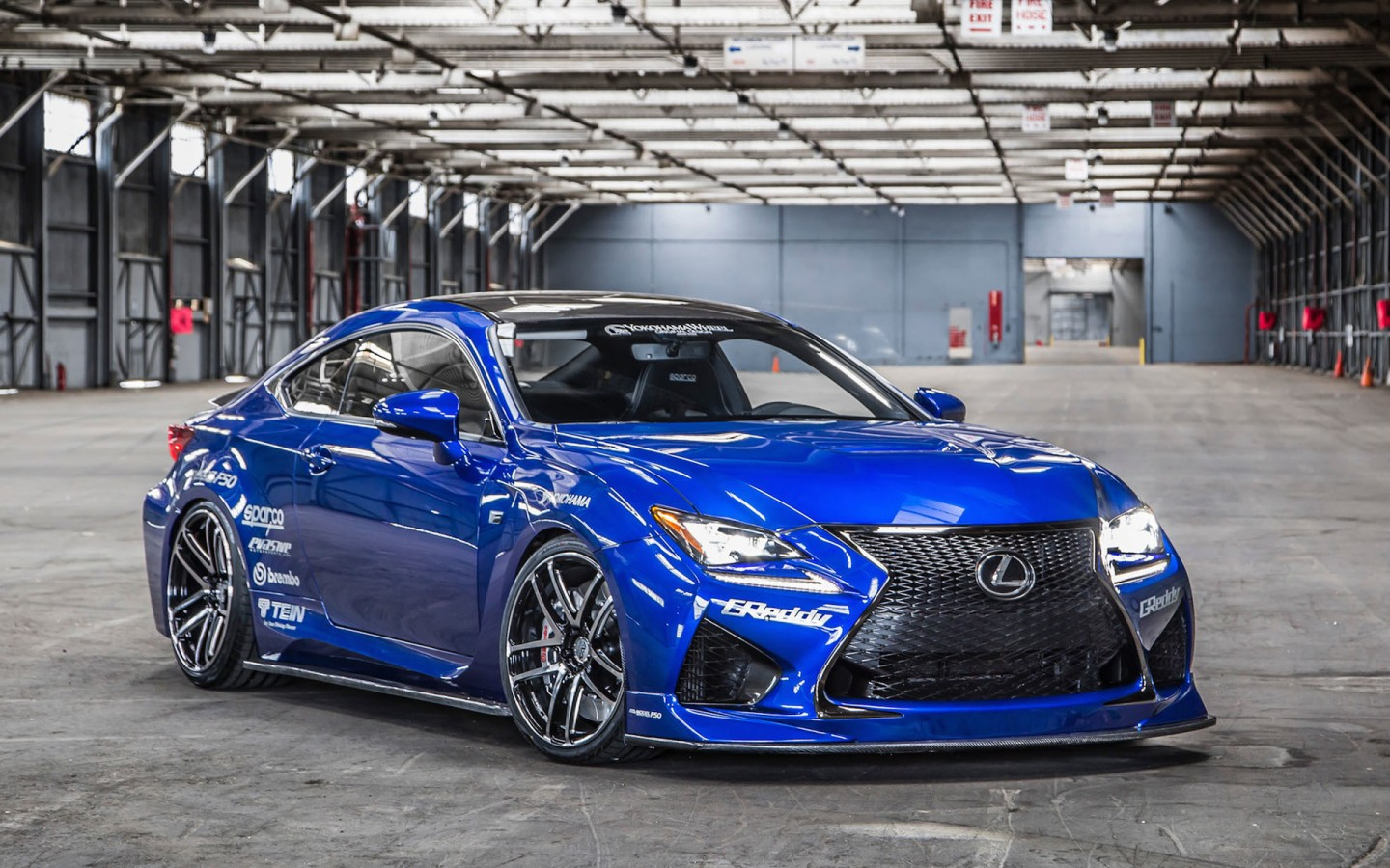 2014 Hd Wallpapers: 2014 Lexus RC F By Gordon Ting Wallpaper