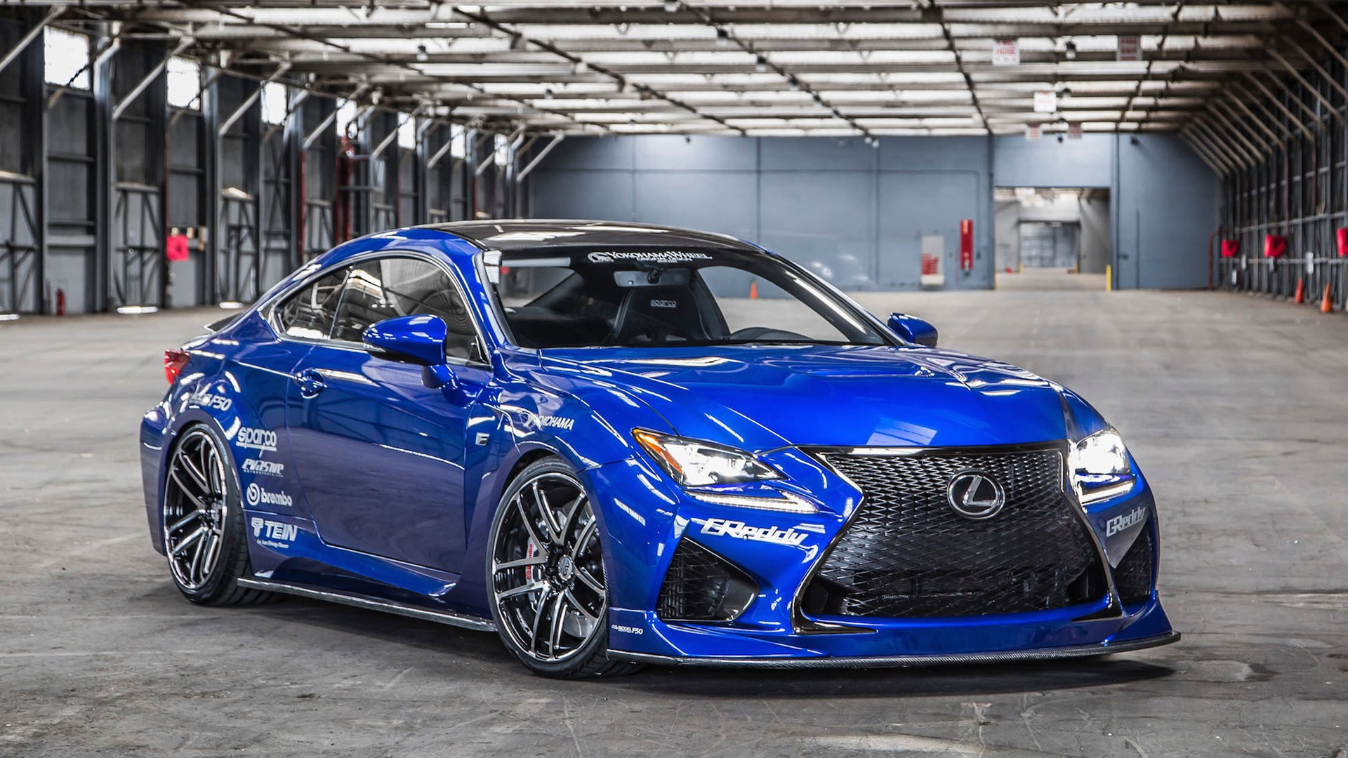 2014 Lexus RC F By Gordon Ting Wallpaper HD Car