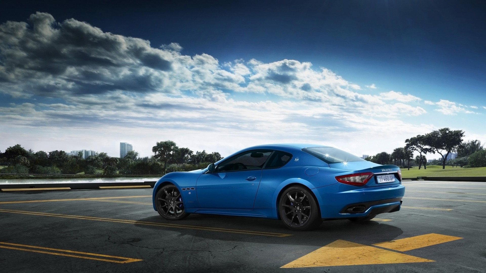 Audi Sports Car >> 2014 Maserati GranTurismo Sport Blue Wallpaper | HD Car Wallpapers | ID #4195