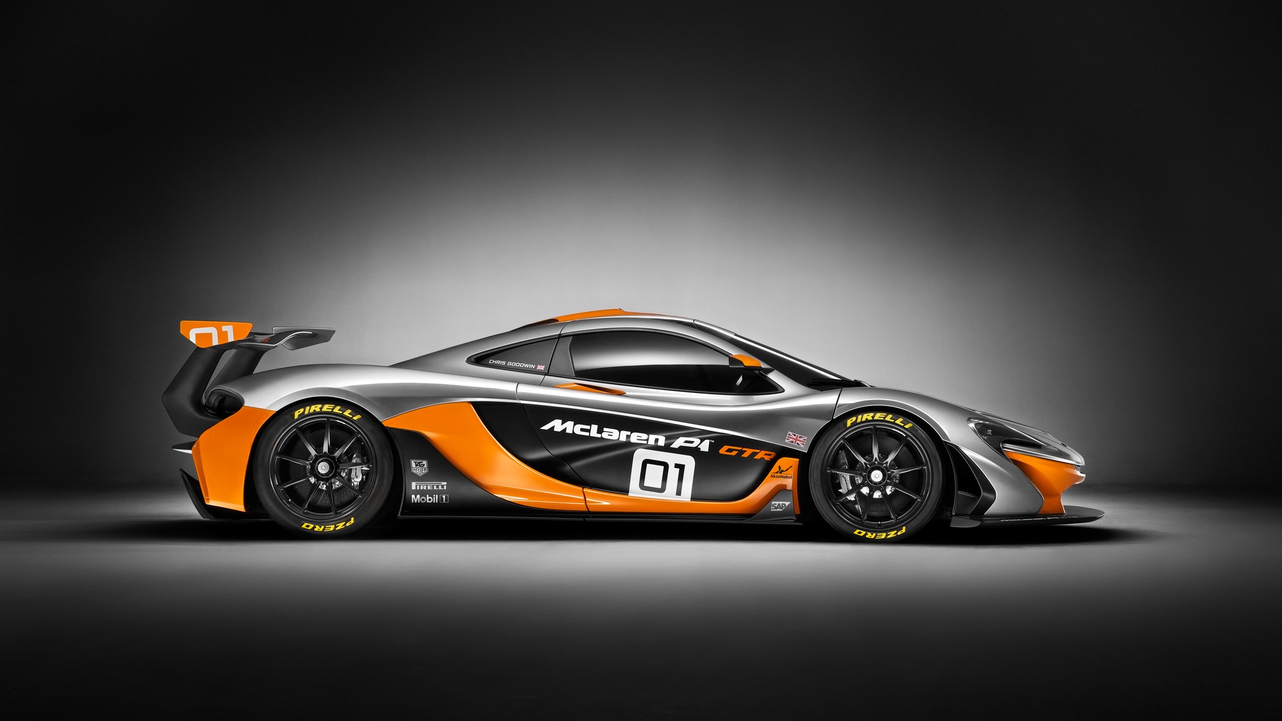 Design Concepts Wallpaper : Mclaren p gtr design concept wallpaper hd car