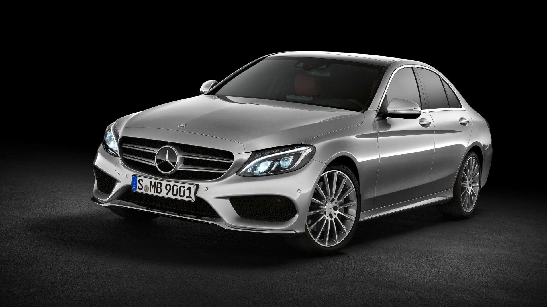 2014 Mercedes Benz C Class C250 AMG Avantgarde Wallpaper