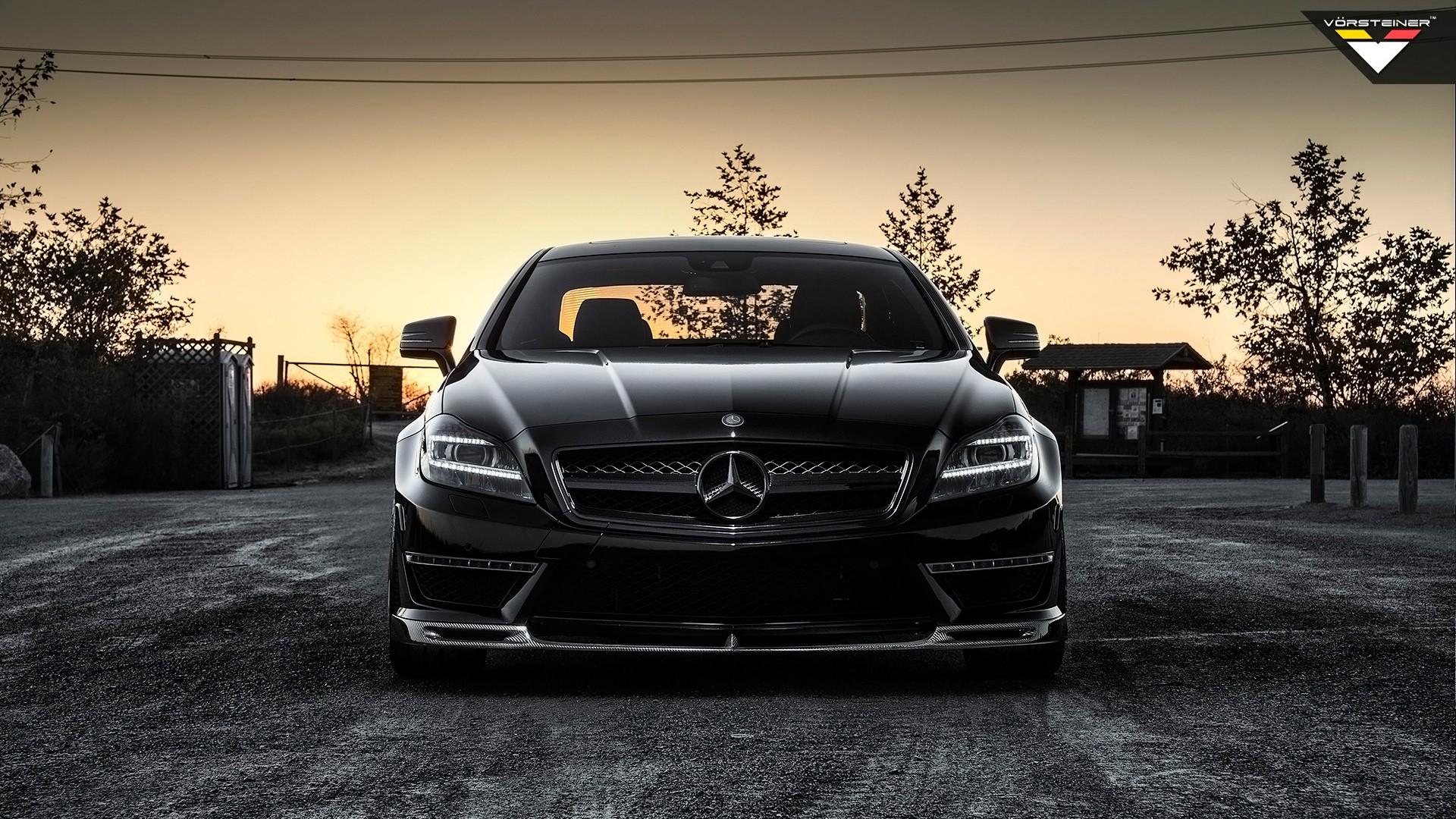 2014 Mercedes Benz Cls63 Amg By Vorsteiner Wallpaper Hd