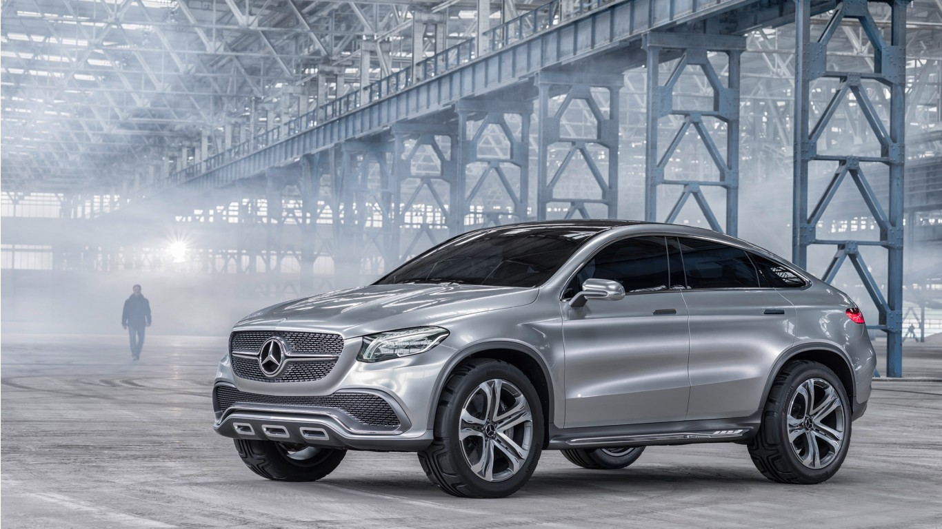2014 mercedes benz concept coupe suv 3 wallpaper hd car for Mercedes benze suv