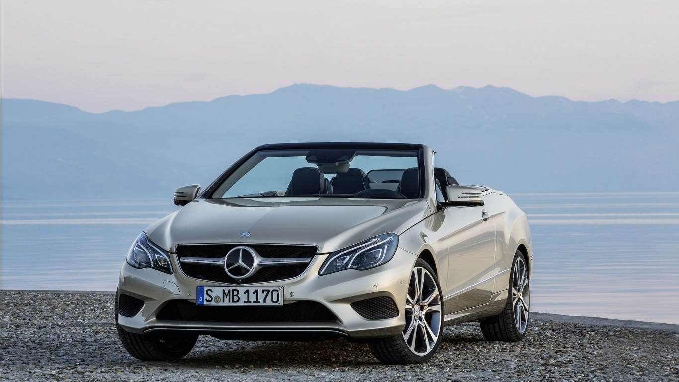 2014 Mercedes Benz E Class Cabriolet Wallpaper Hd Car