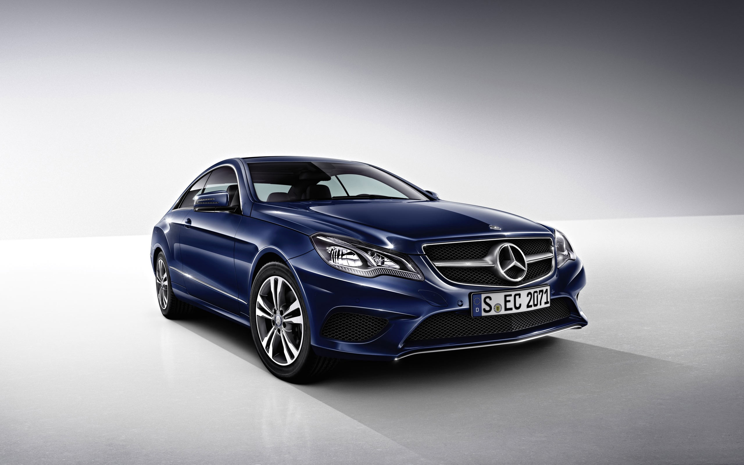 2014 Mercedes Benz E Class Coupe Wallpaper Hd Car