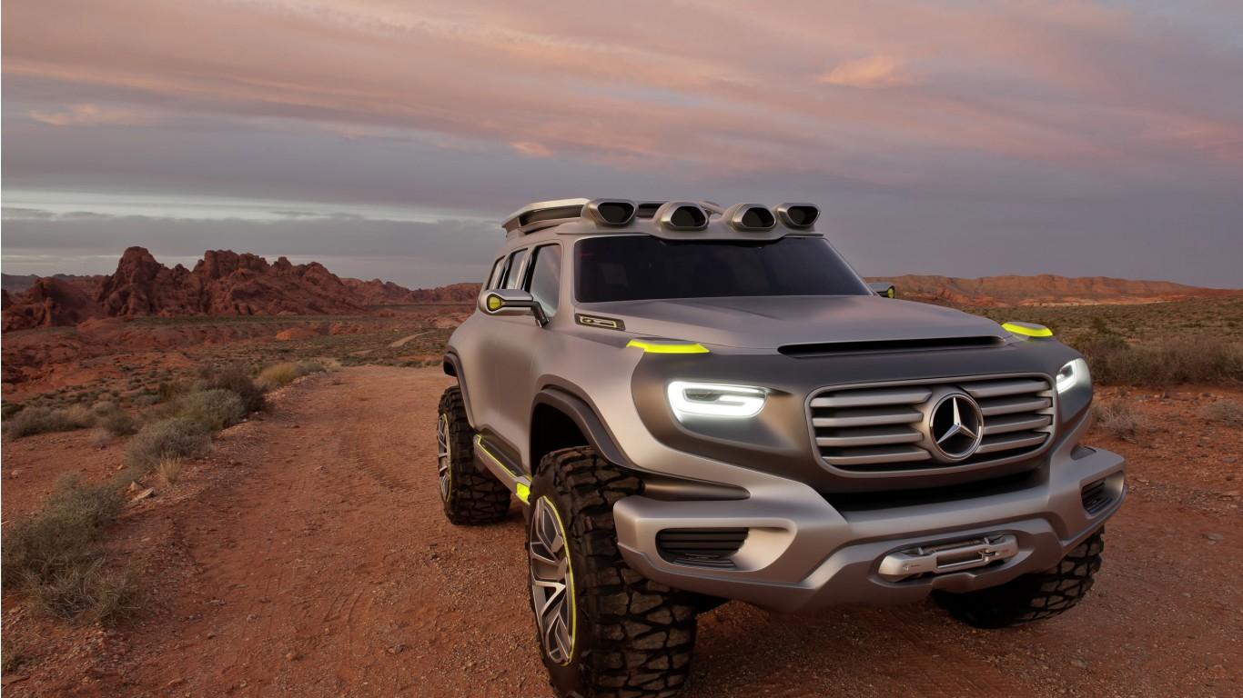 2014 Mercedes Benz Ener G Force Concept Wallpaper   HD Car ...