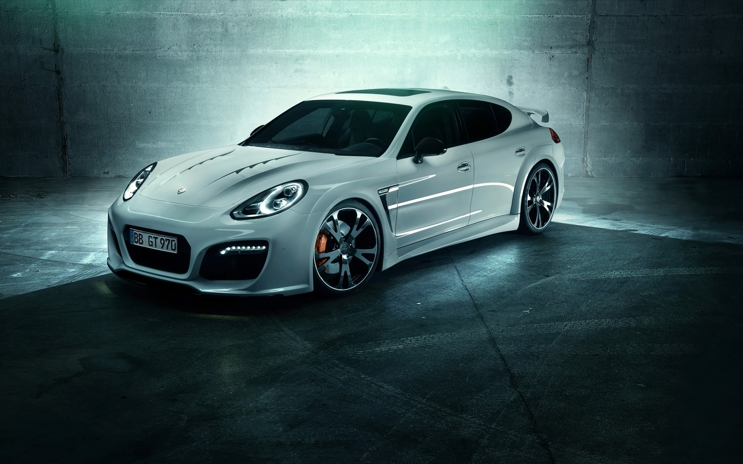 2014 porsche panamera turbo grandgttechart wallpaper | hd car