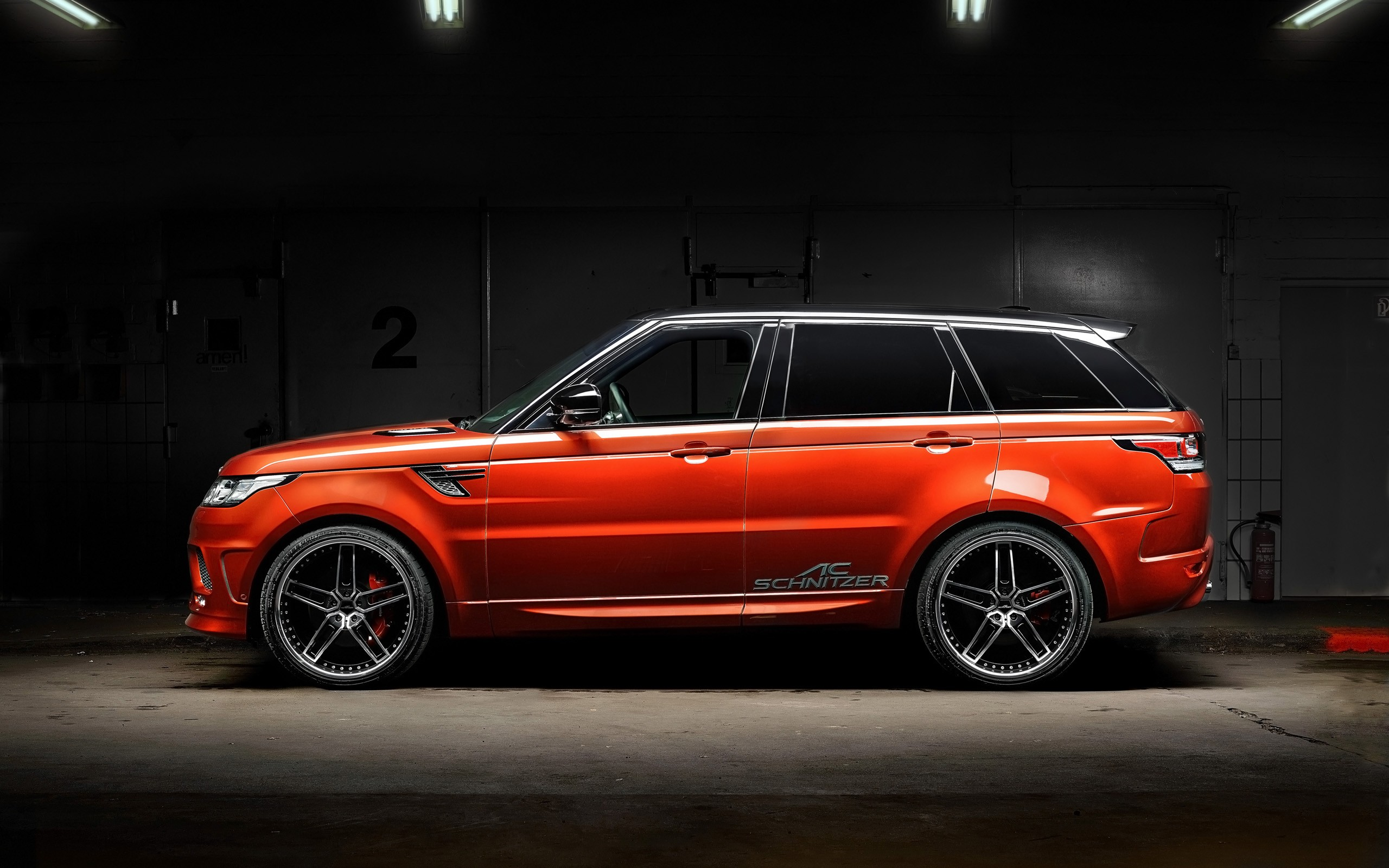 2014 Range Rover Sport By Ac Schnitzer Wallpaper Hd Car