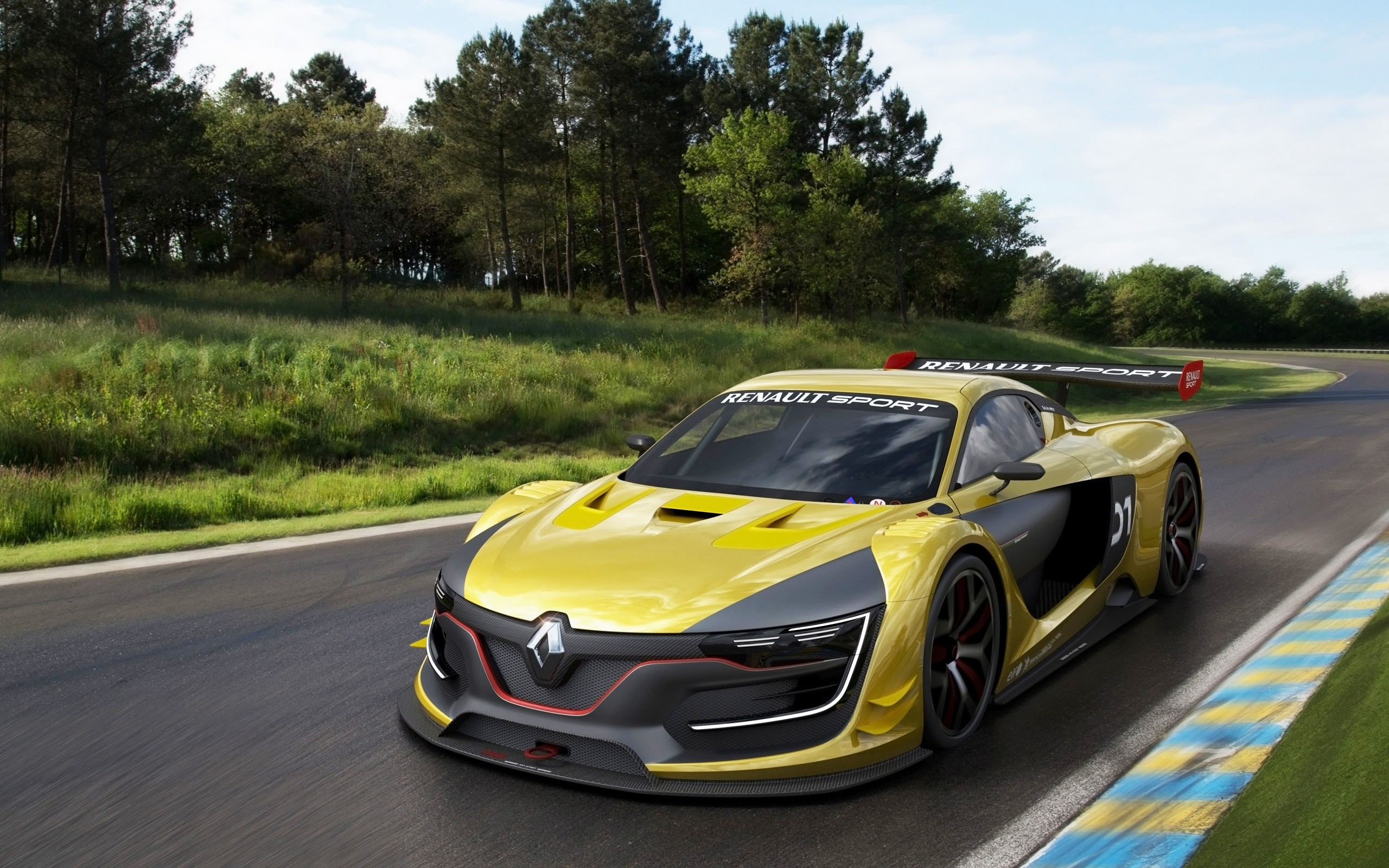 2014 Renault Sport RS 01 Renderings Wallpaper