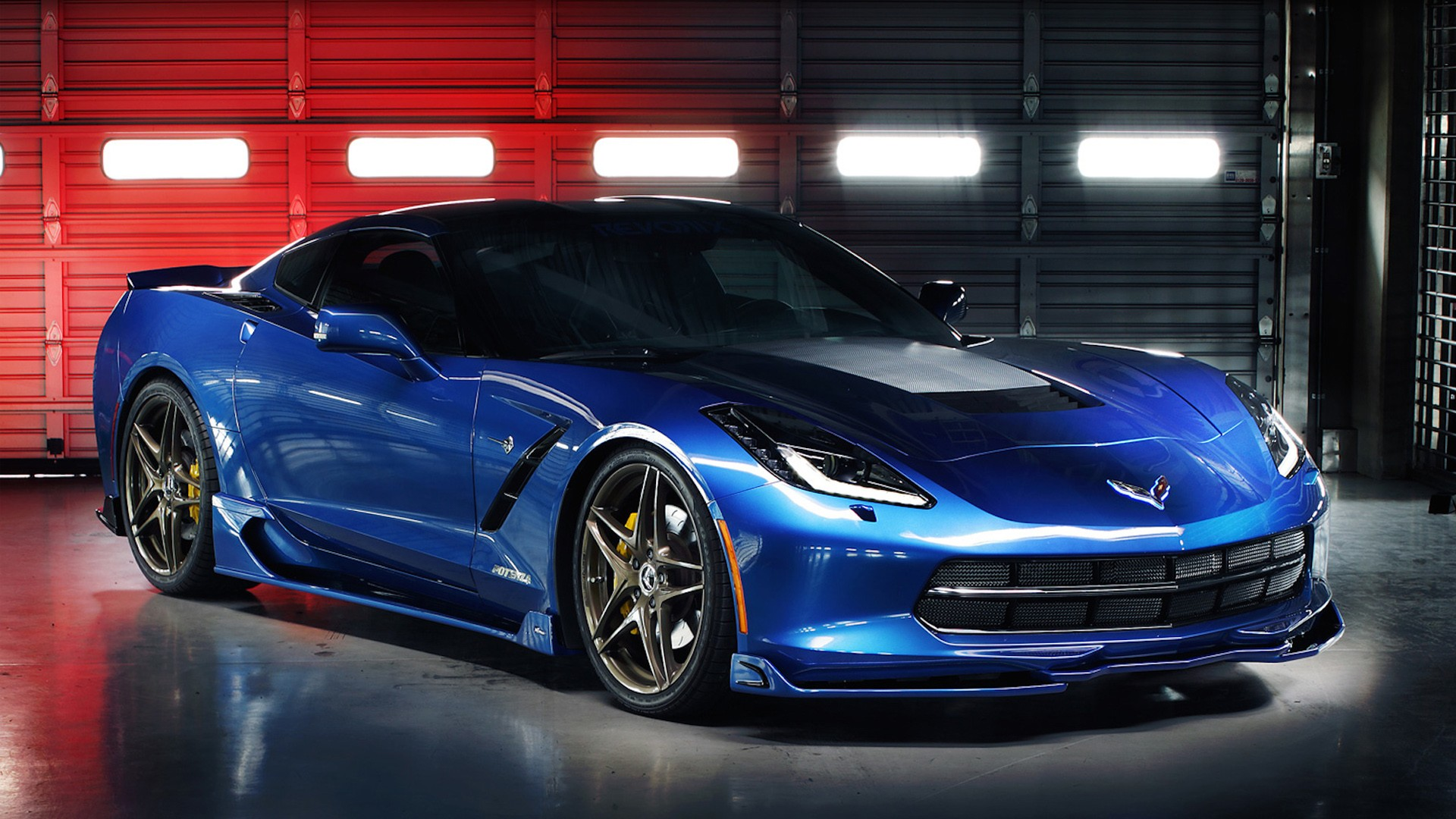 2014 Revorix Chevrolet Corvette Wallpaper Hd Car