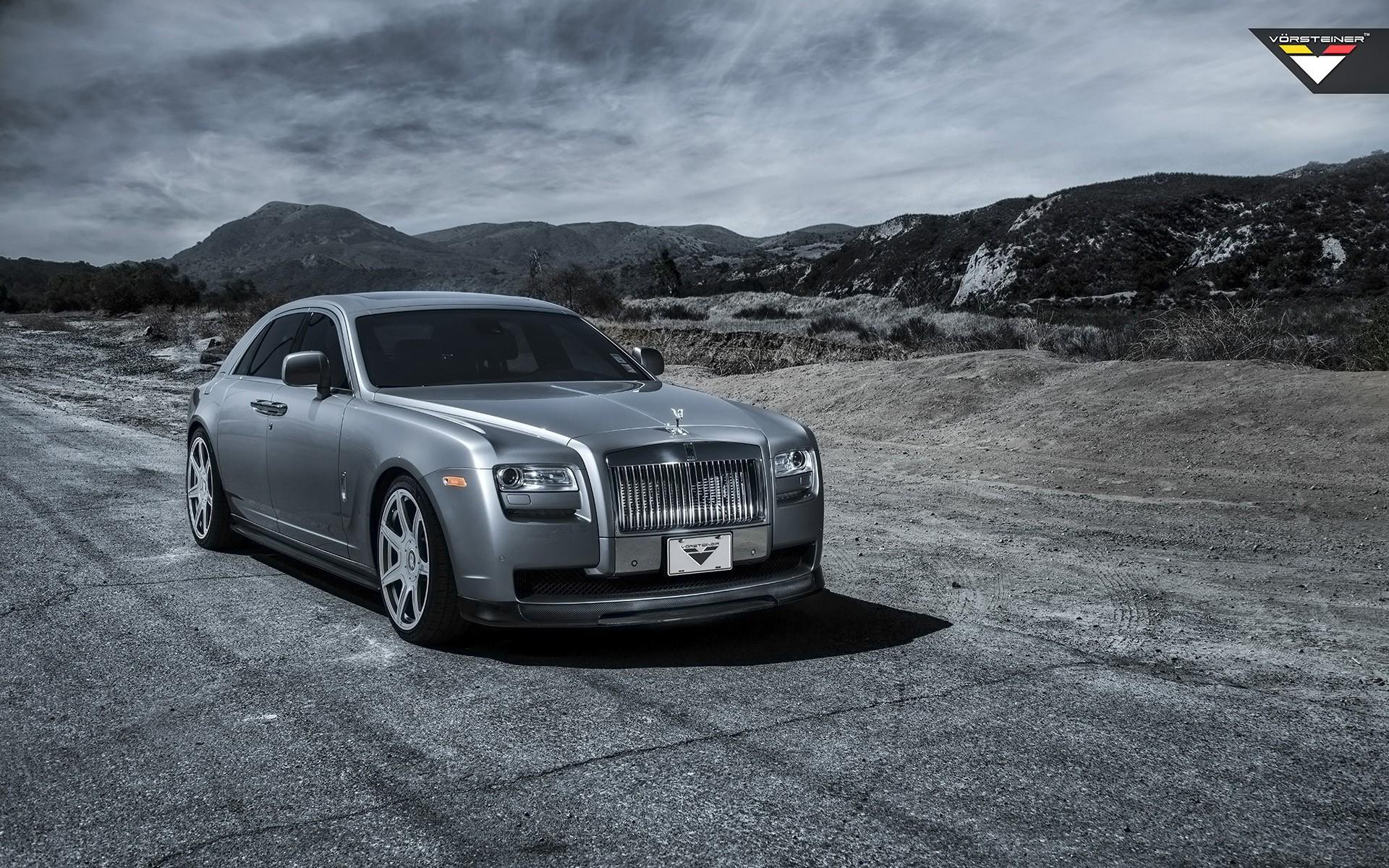 Rolls Royce Silver Ghost >> 2014 Rolls Royce Ghost Silver By Vorsteiner Wallpaper | HD Car Wallpapers | ID #4530