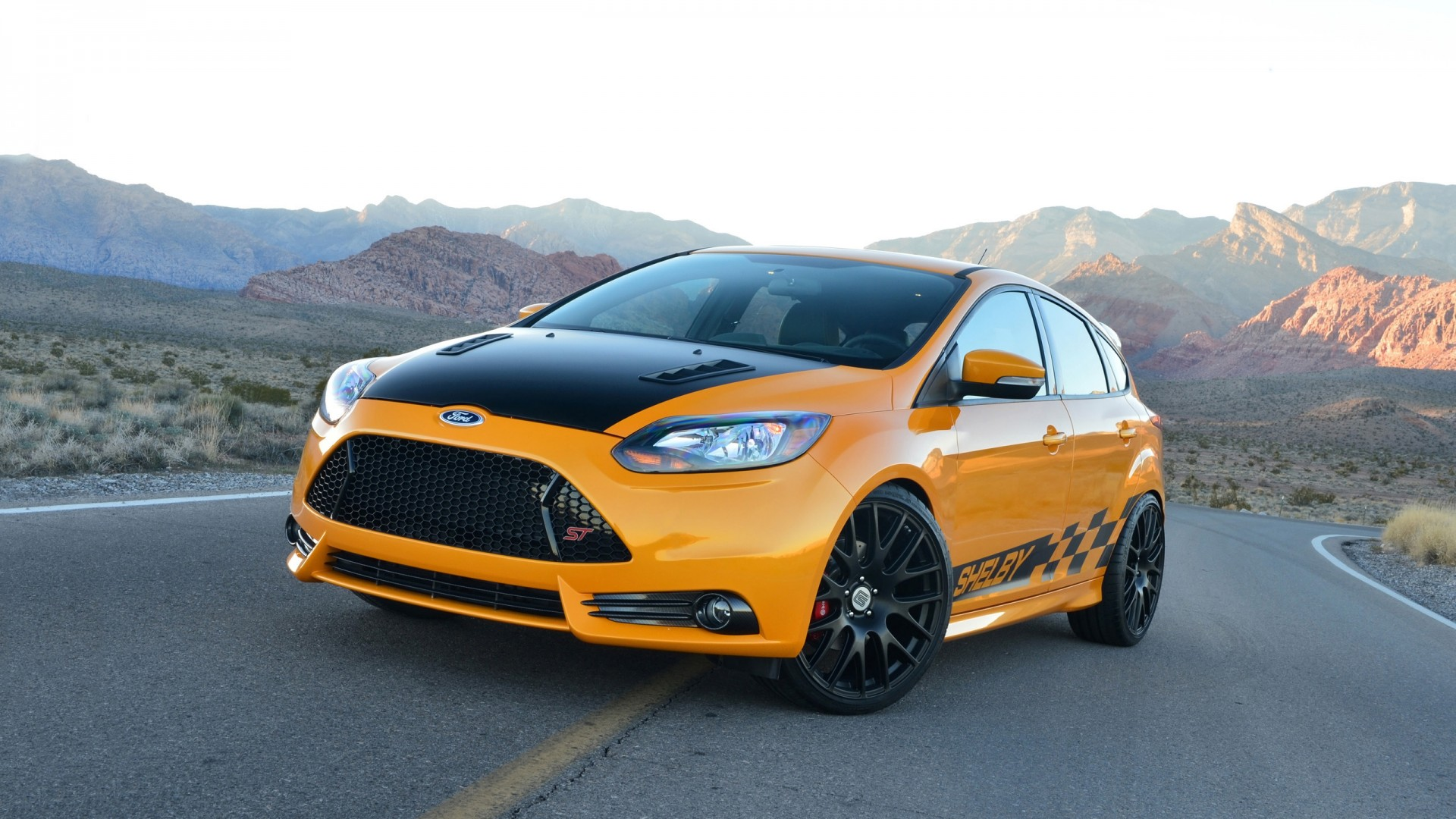 2018 Ford Focus St >> 2014 Shelby Ford Focus ST Wallpaper | HD Car Wallpapers ...