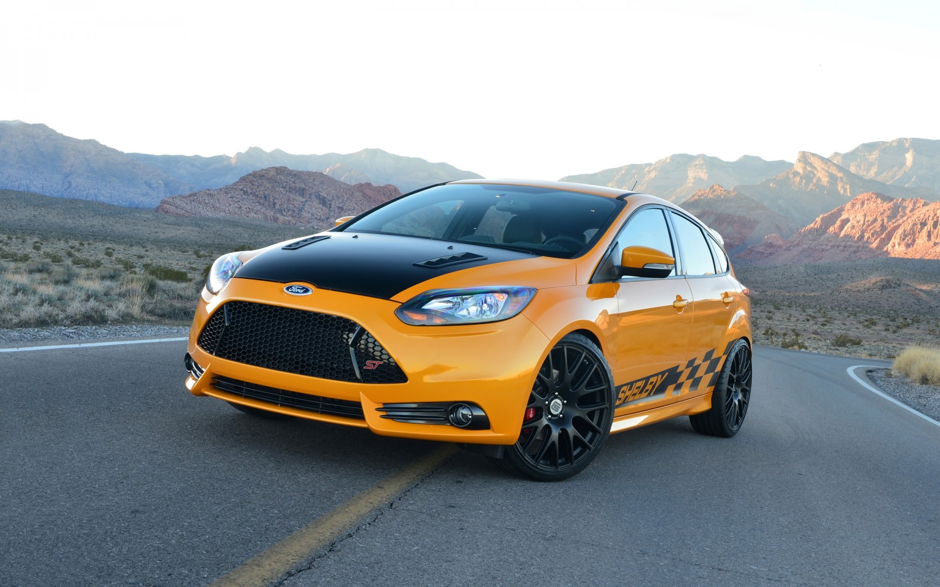 2014 Shelby Ford Focus ST Wallpaper | HD Car Wallpapers ...