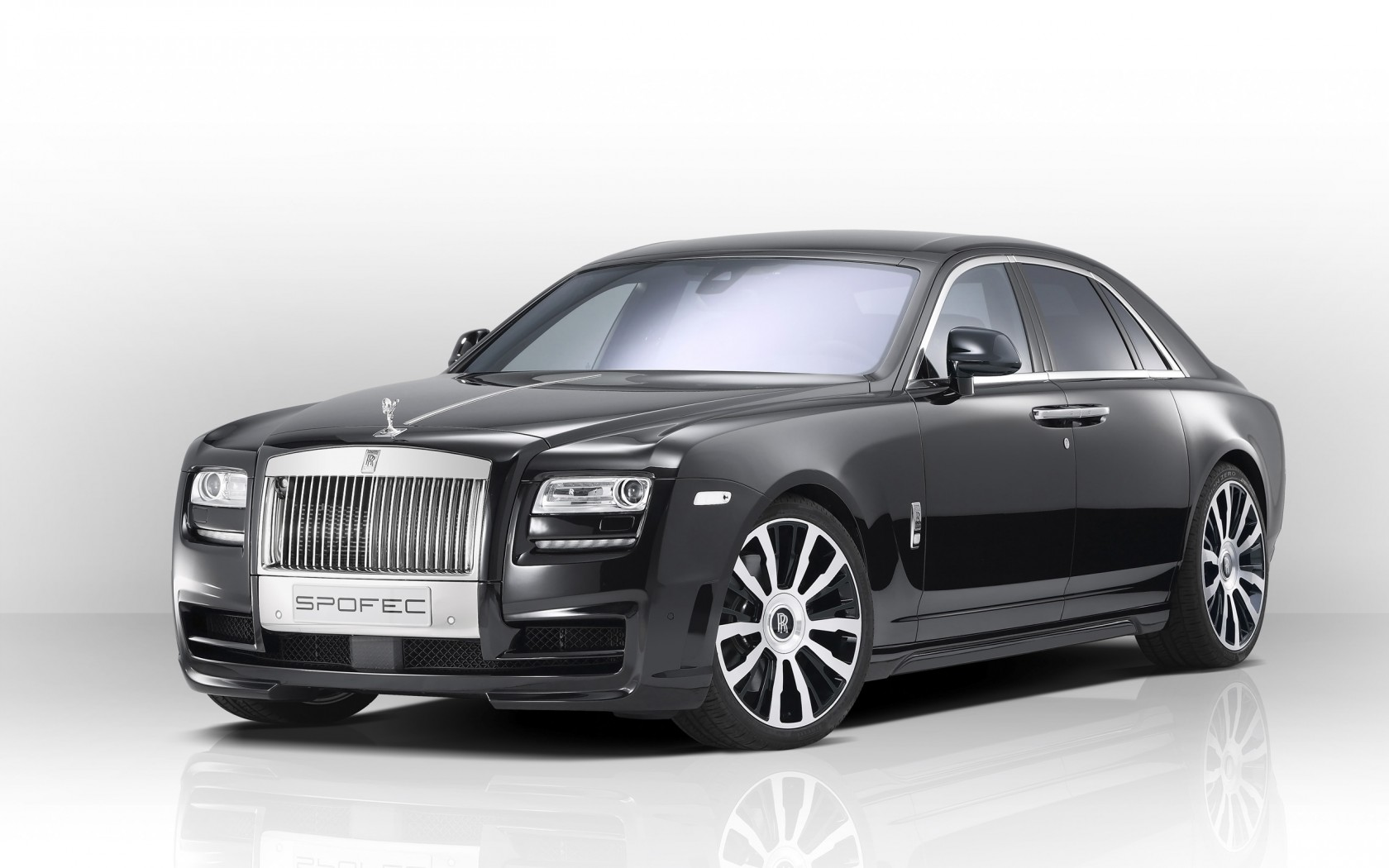 2014 spofec rolls royce ghost wallpaper hd car
