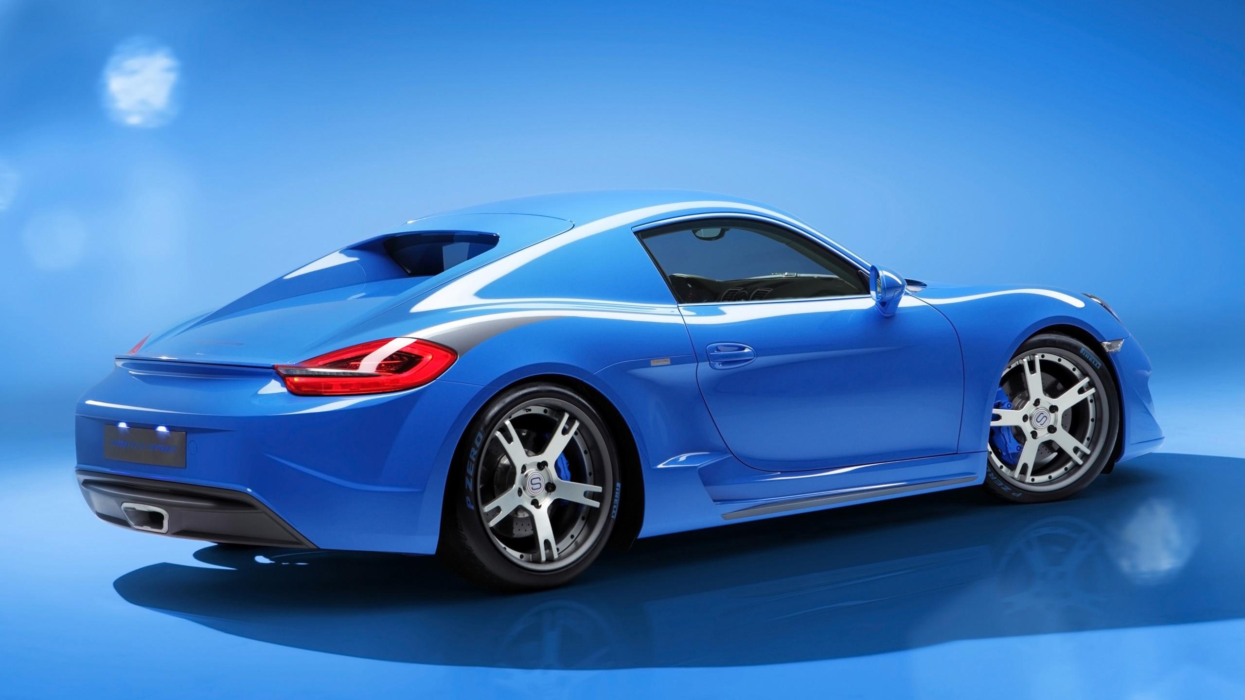 2014 Studiotorino Porsche Cayman Moncenisio Blue 3