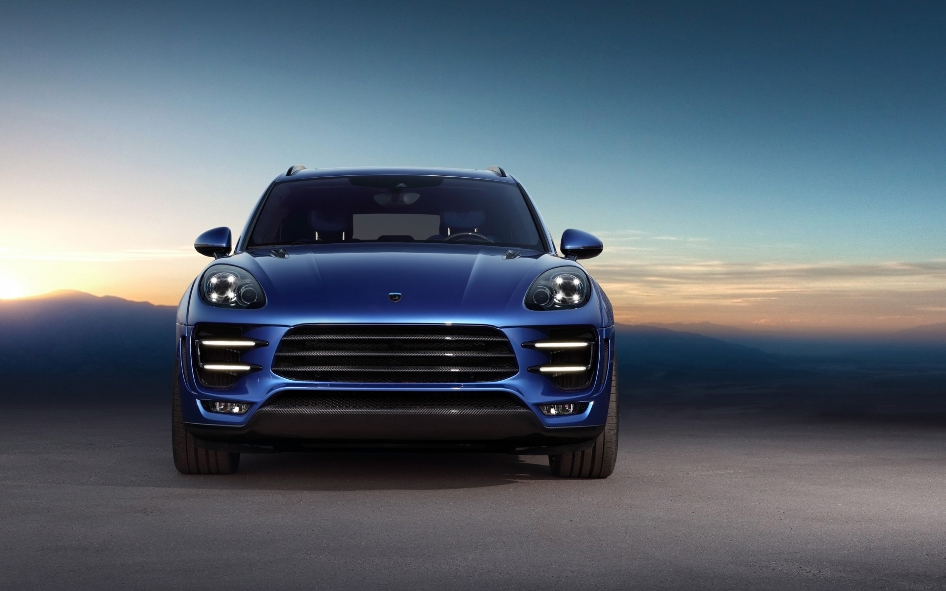 2014 Topcar Porsche Macan Ursa Wallpaper Hd Car
