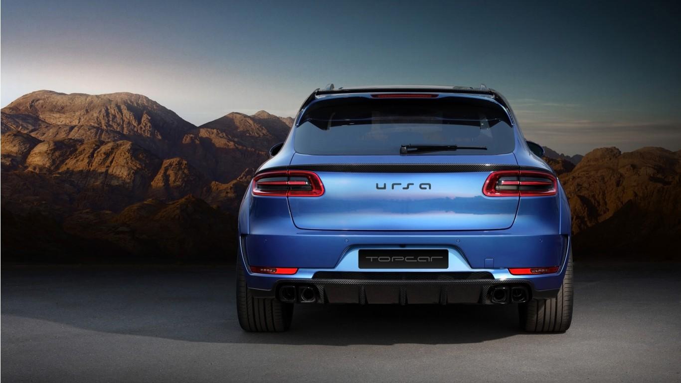 Porsche Macan S 2014 Wallpapers: 2014 TopCar Porsche Macan URSA 2 Wallpaper