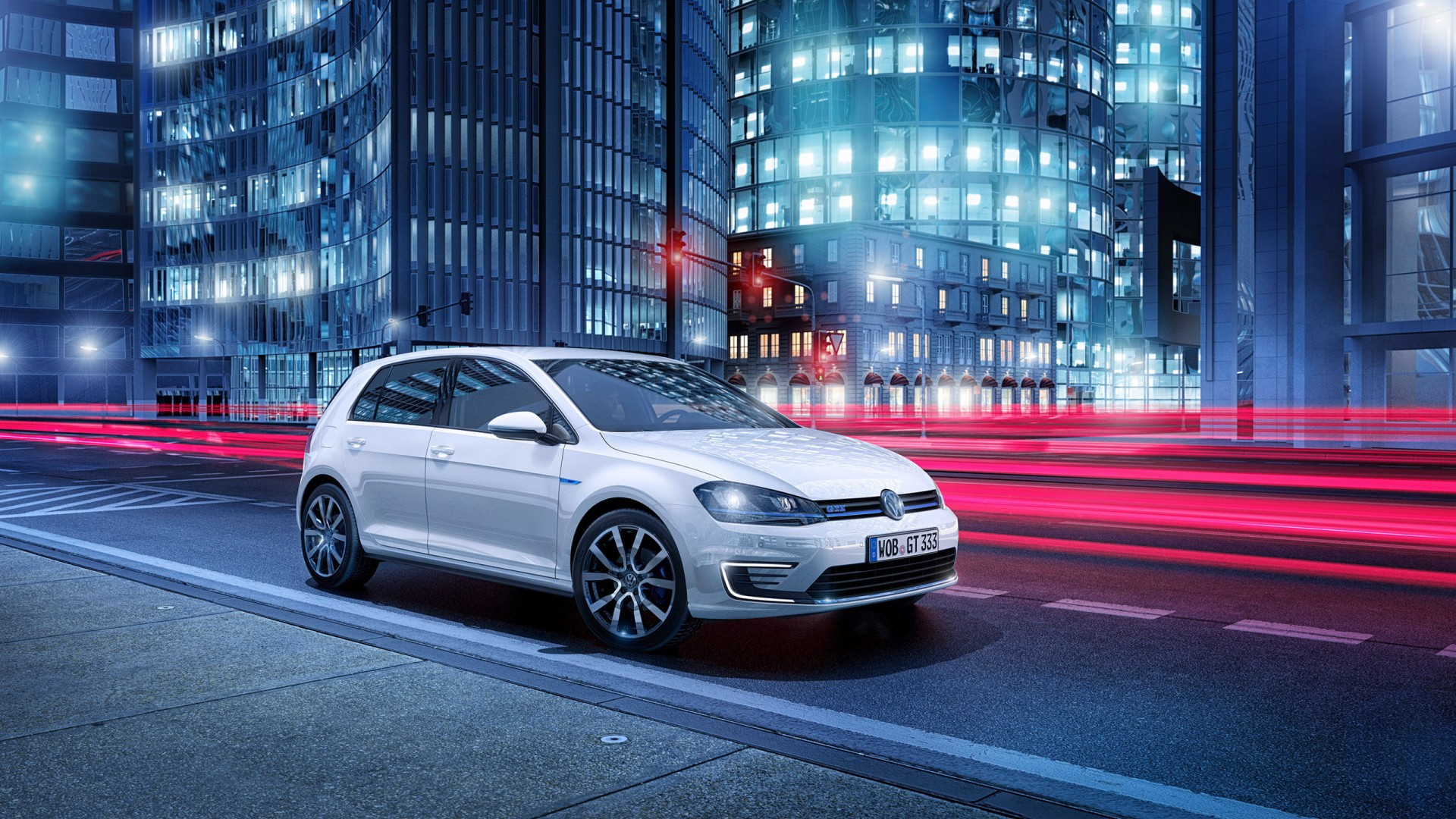 2014 Volkswagen Golf Gte Plug In Hybrid Wallpaper Hd Car