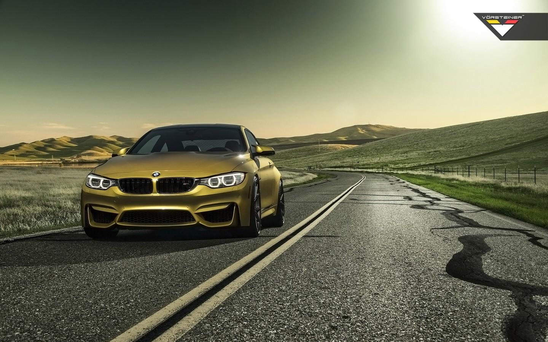 2014 Vorsteiner BMW M4 Austin Yellow Wallpaper | HD Car ...