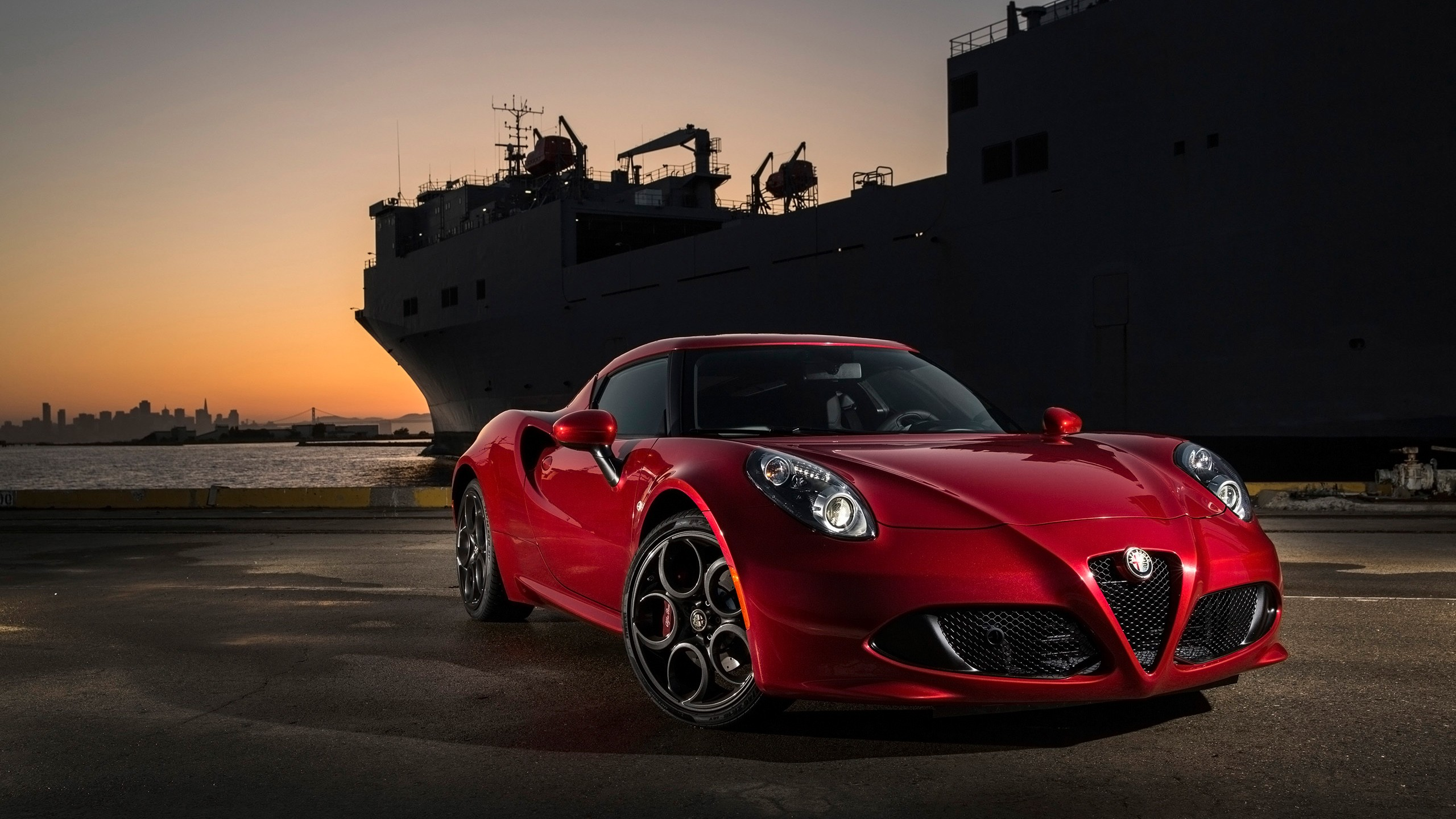 2015 Alfa Romeo 4c Red Wallpaper Hd Car Wallpapers Id