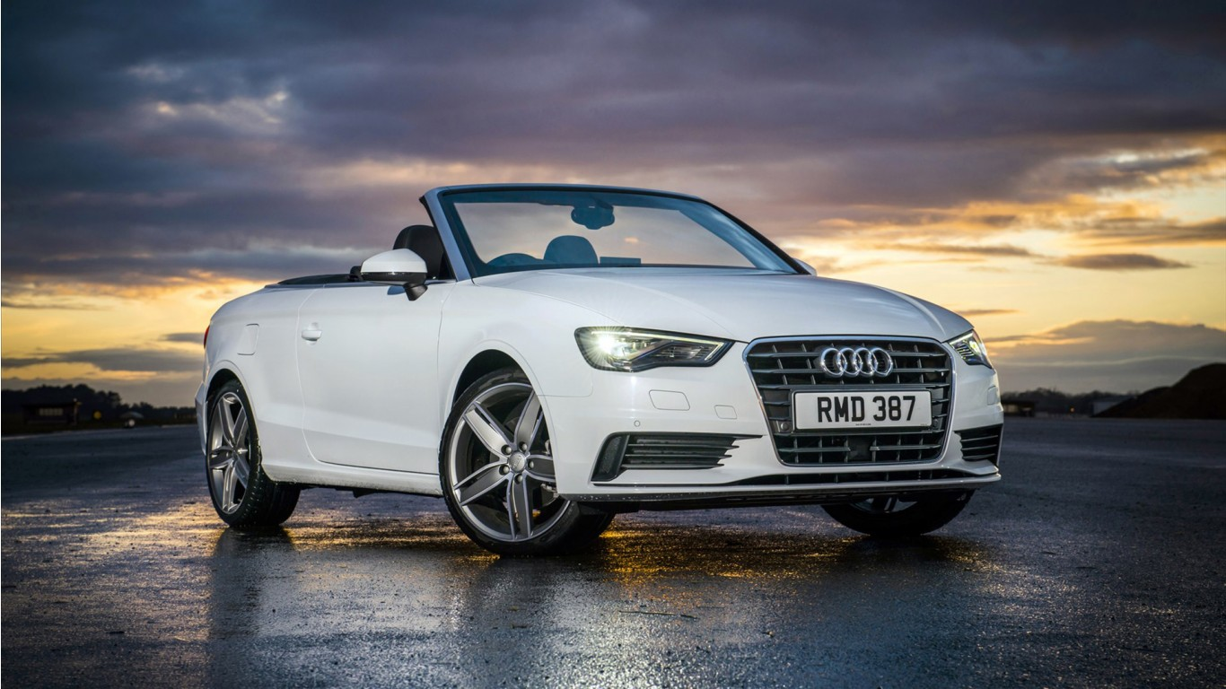 Cars Wallpapers: 2015 Audi A3 Cabriolet Sport Wallpaper