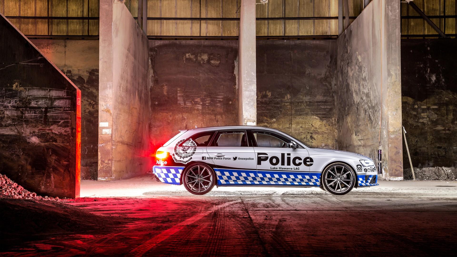 2015 Audi Rs4 Avant Police 2 Wallpaper Hd Car Wallpapers