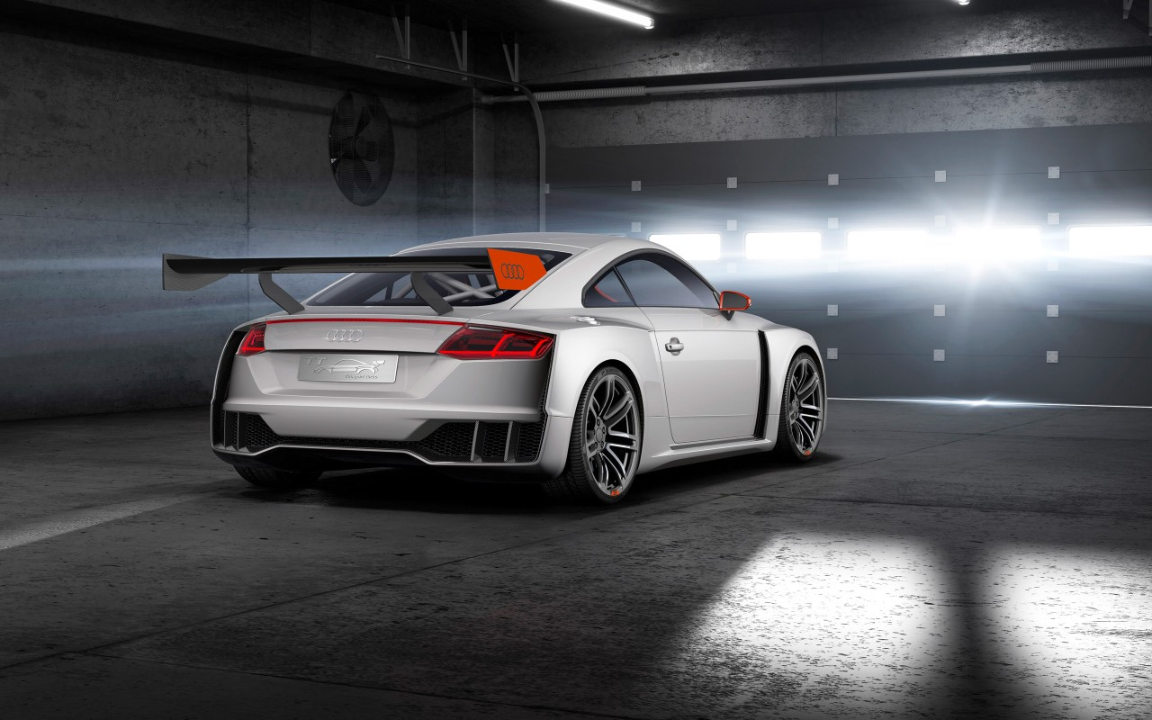 2015 Audi TT Clubsport Turbo Concept 4 Wallpaper  HD Car Wallpapers