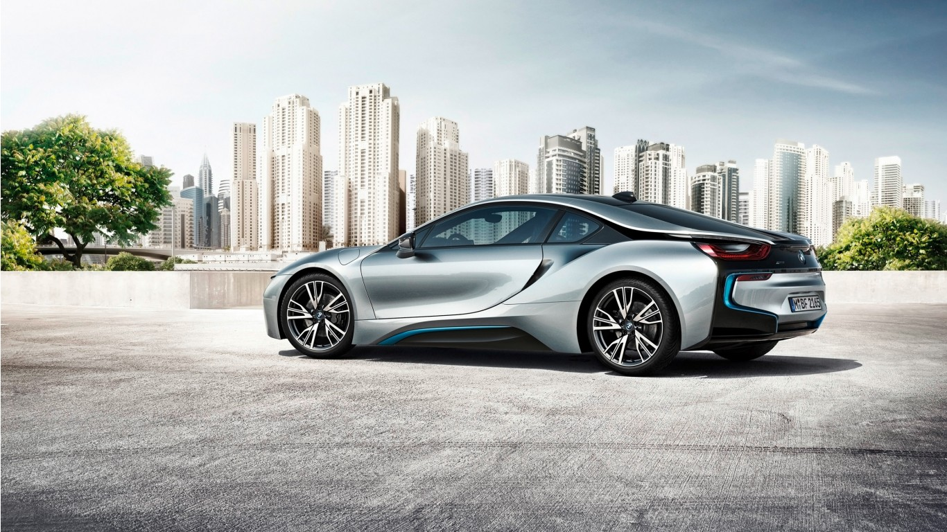 Cars Wallpapers: 2015 BMW I8 4 Wallpaper