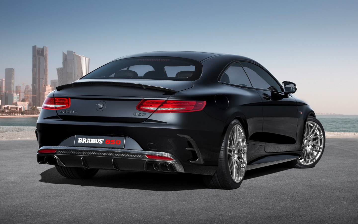 2015 brabus mercedes benz s63 850 biturbo coupe 2 for Mercedes benz 850