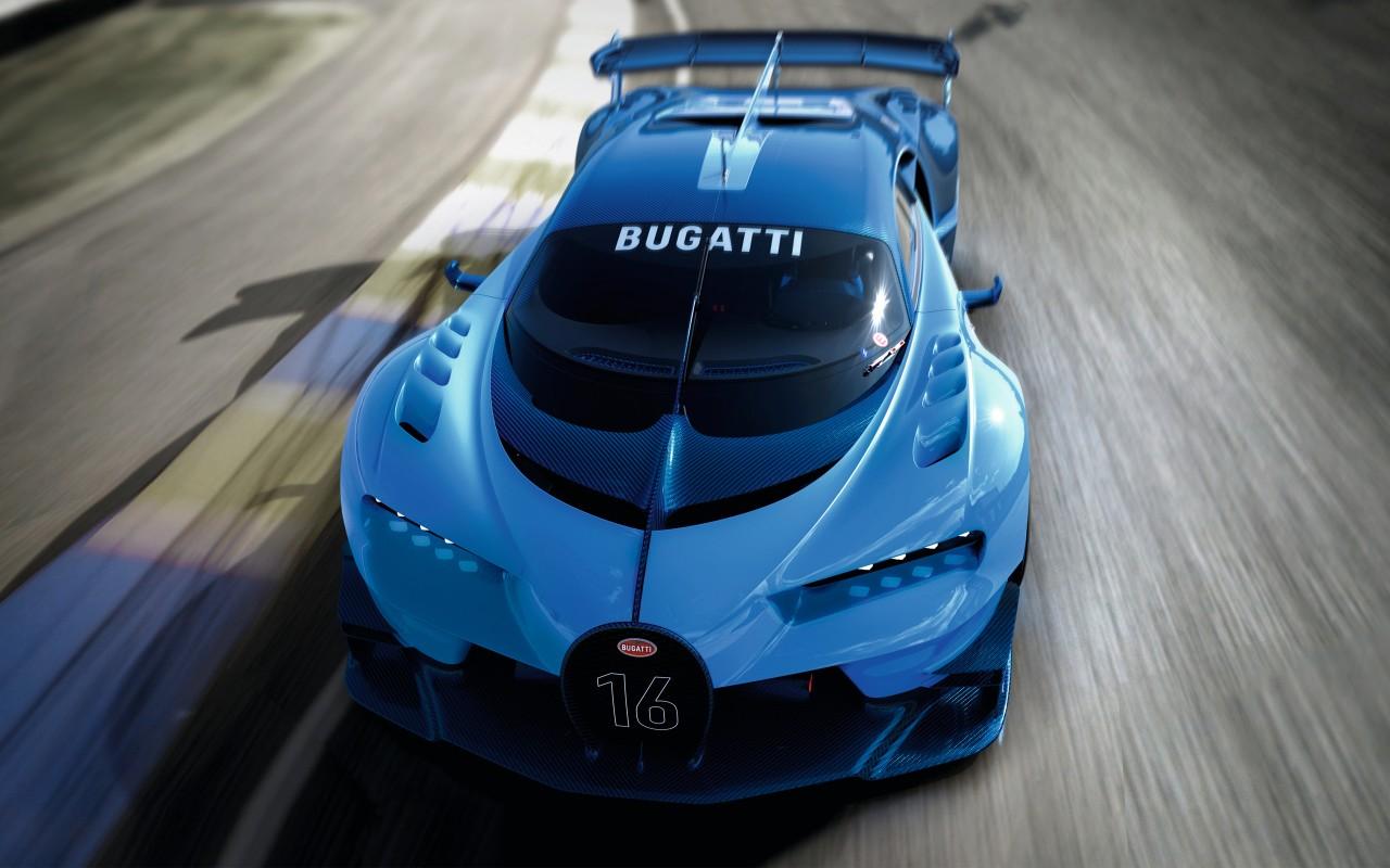 2015 Bugatti Vision Gran Turismo 10 Wallpaper  HD Car Wallpapers