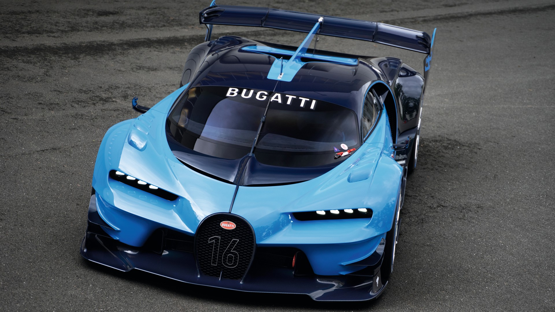 2015 Bugatti Vision Gran Turismo 4 Wallpaper Hd Car