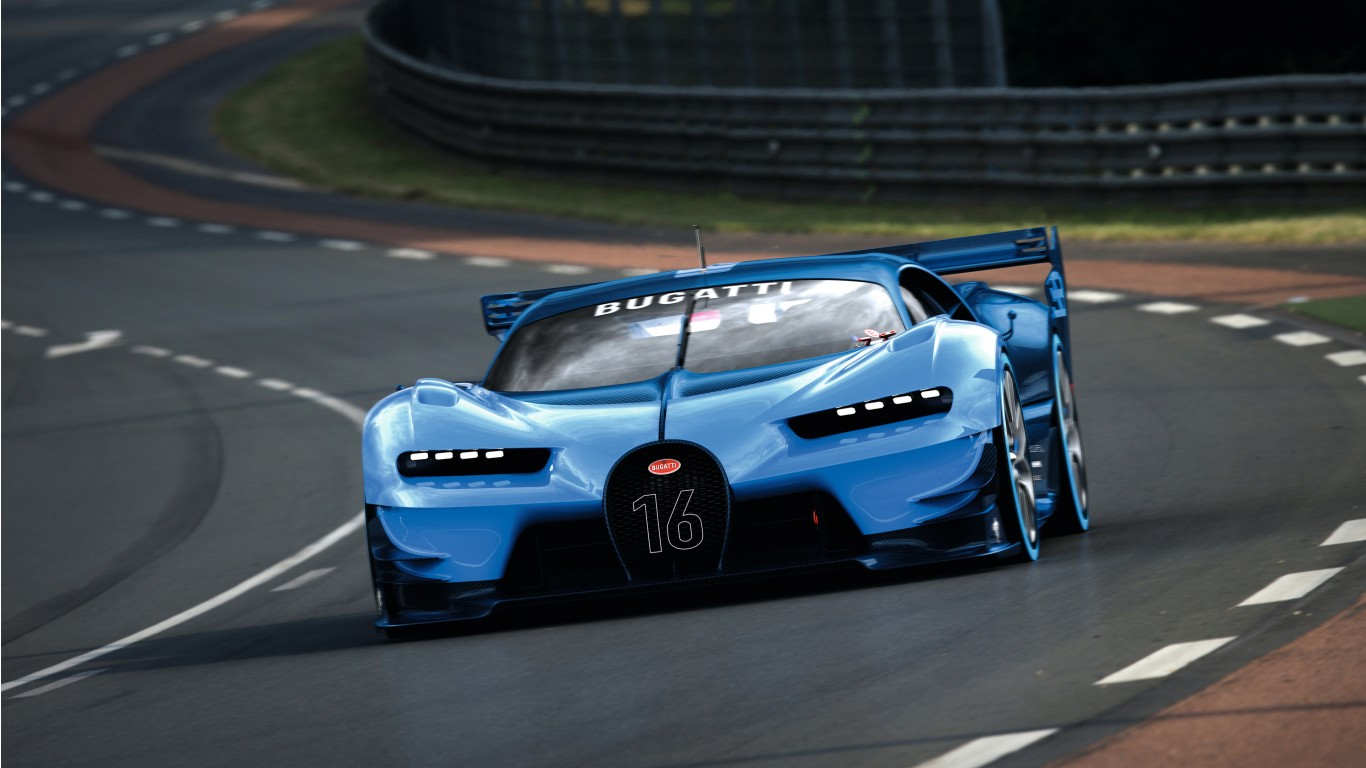 2015 Bugatti Vision Gran Turismo 5 Wallpaper  HD Car Wallpapers