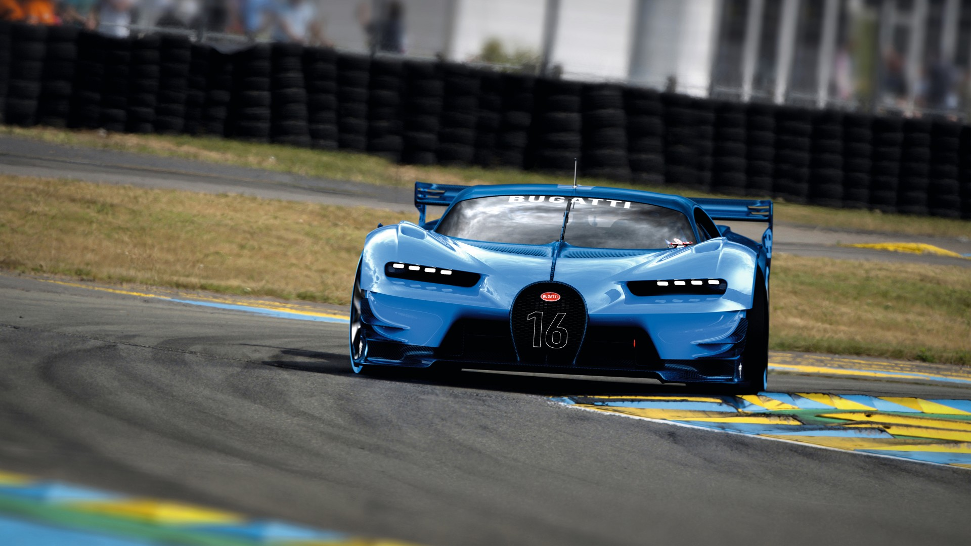 2015 Bugatti Vision Gran Turismo 9 Wallpaper  HD Car Wallpapers