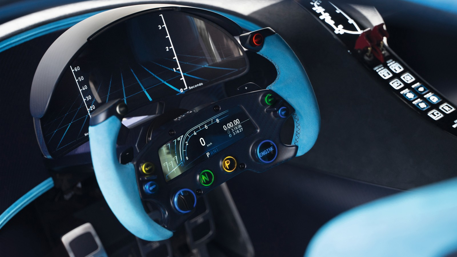 2015 Bugatti Vision Gran Turismo Interior Wallpaper  HD Car