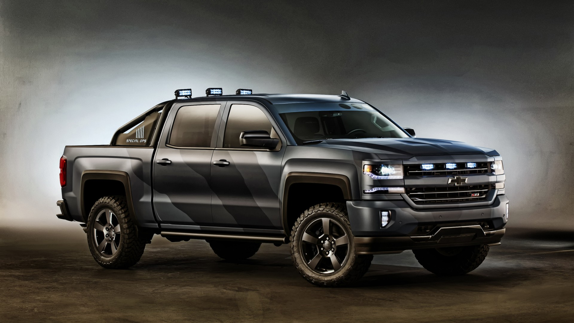 2015 Chevrolet Silverado Concept Wallpaper Hd Car