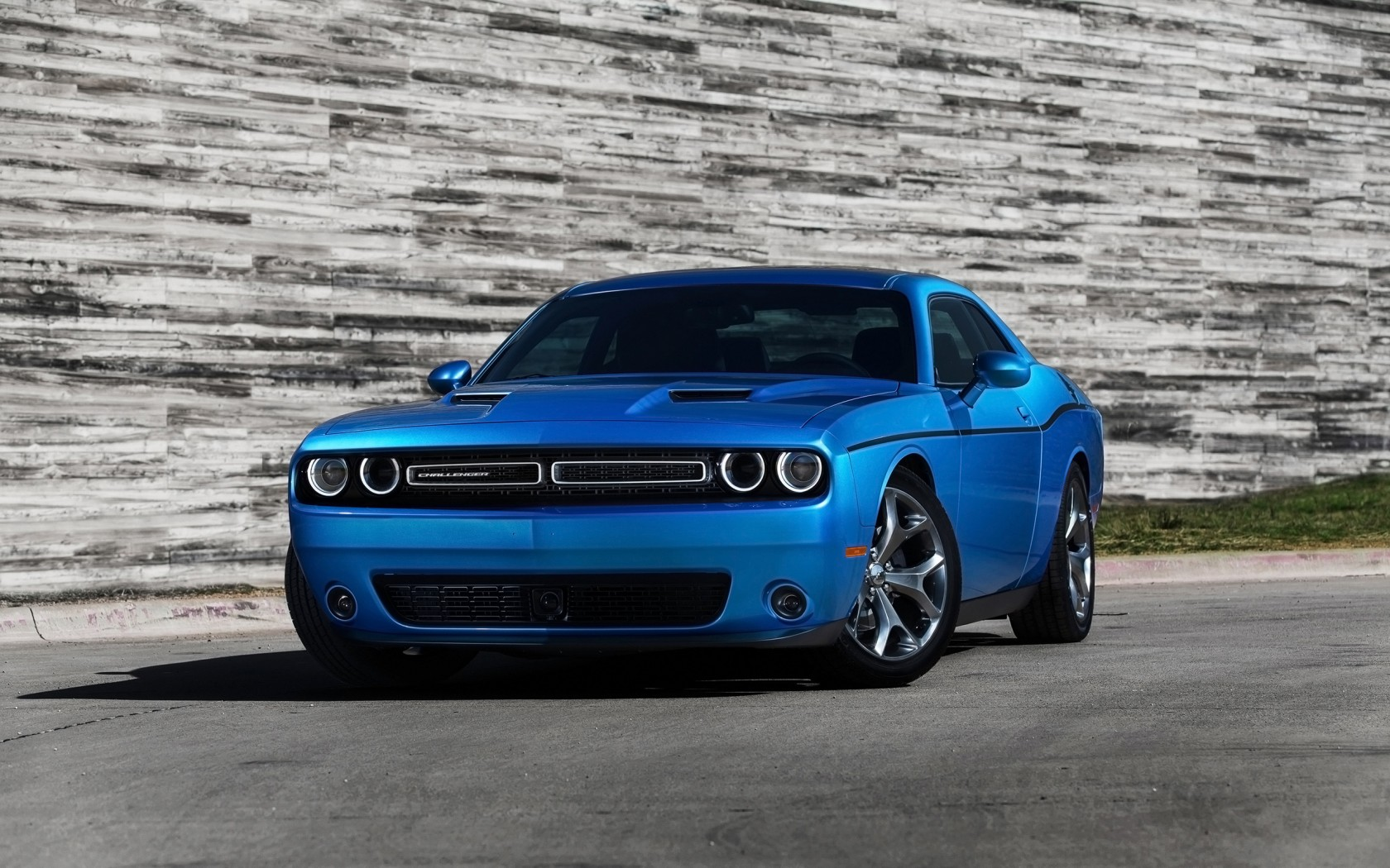 Dodge Challenger Blue X