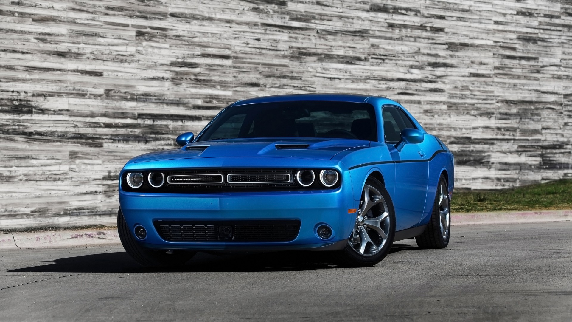 2015 Dodge Challenger Blue Wallpaper Hd Car Wallpapers