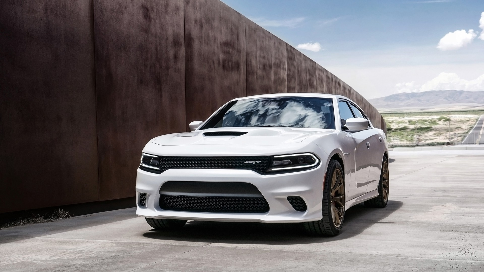 2015 Dodge Charger Srt Hellcat 3 Wallpaper Hd Car