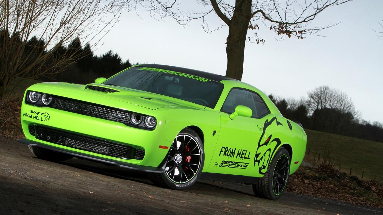 geigercars dodge challenger srt hellcat wallpaper hd car wallpapers id